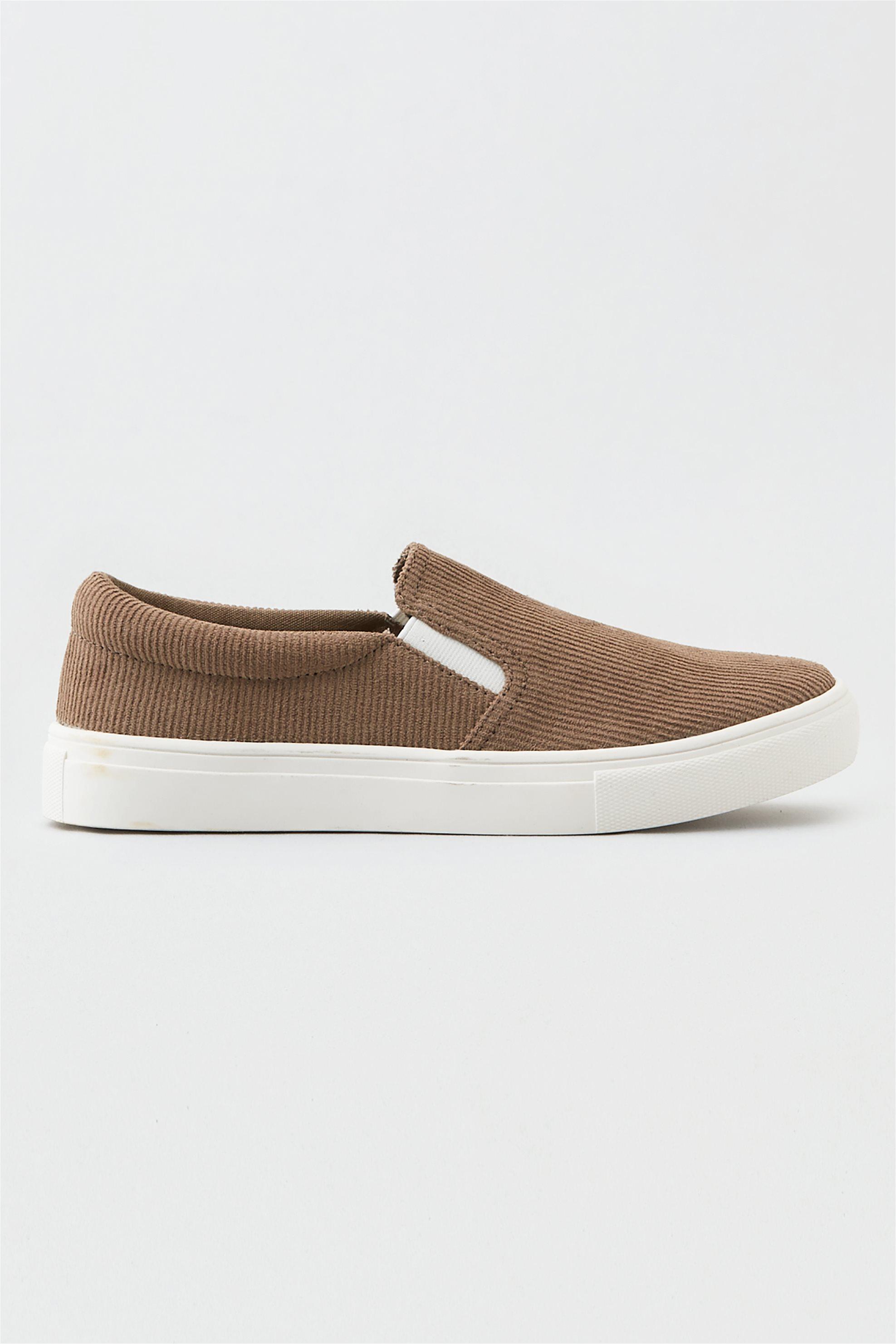 AEO Slip On Sneaker - 0414-4396-256 - Καφέ