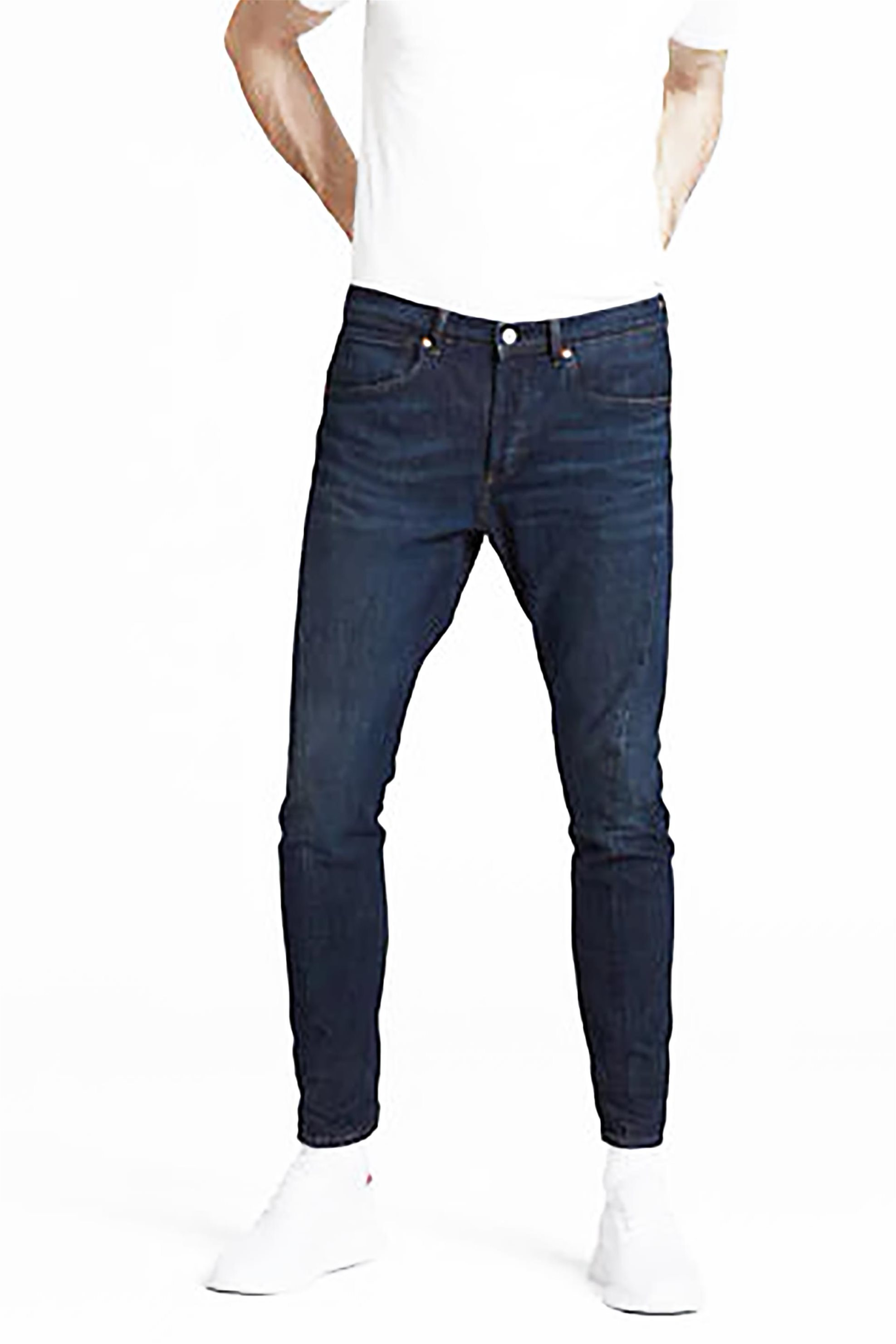 Levi's® ανδρικό τζην παντελόνι 512™ Slim Taper Fit 32L - 7490300-03-32 - Μπλε Σκούρο