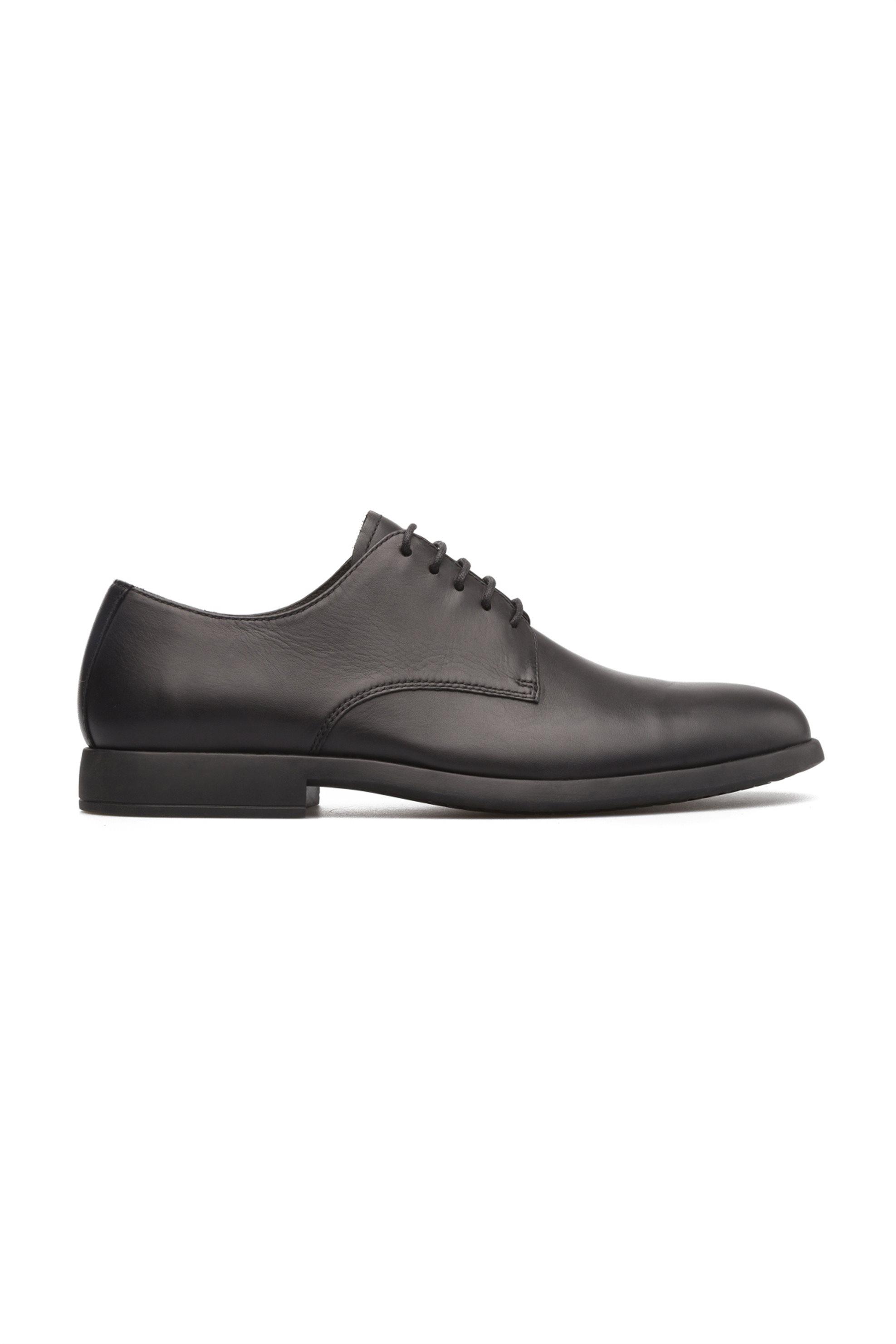 Camper ανδρικά παπούτσια Oxford Truman – K100243-001 – Μαύρο
