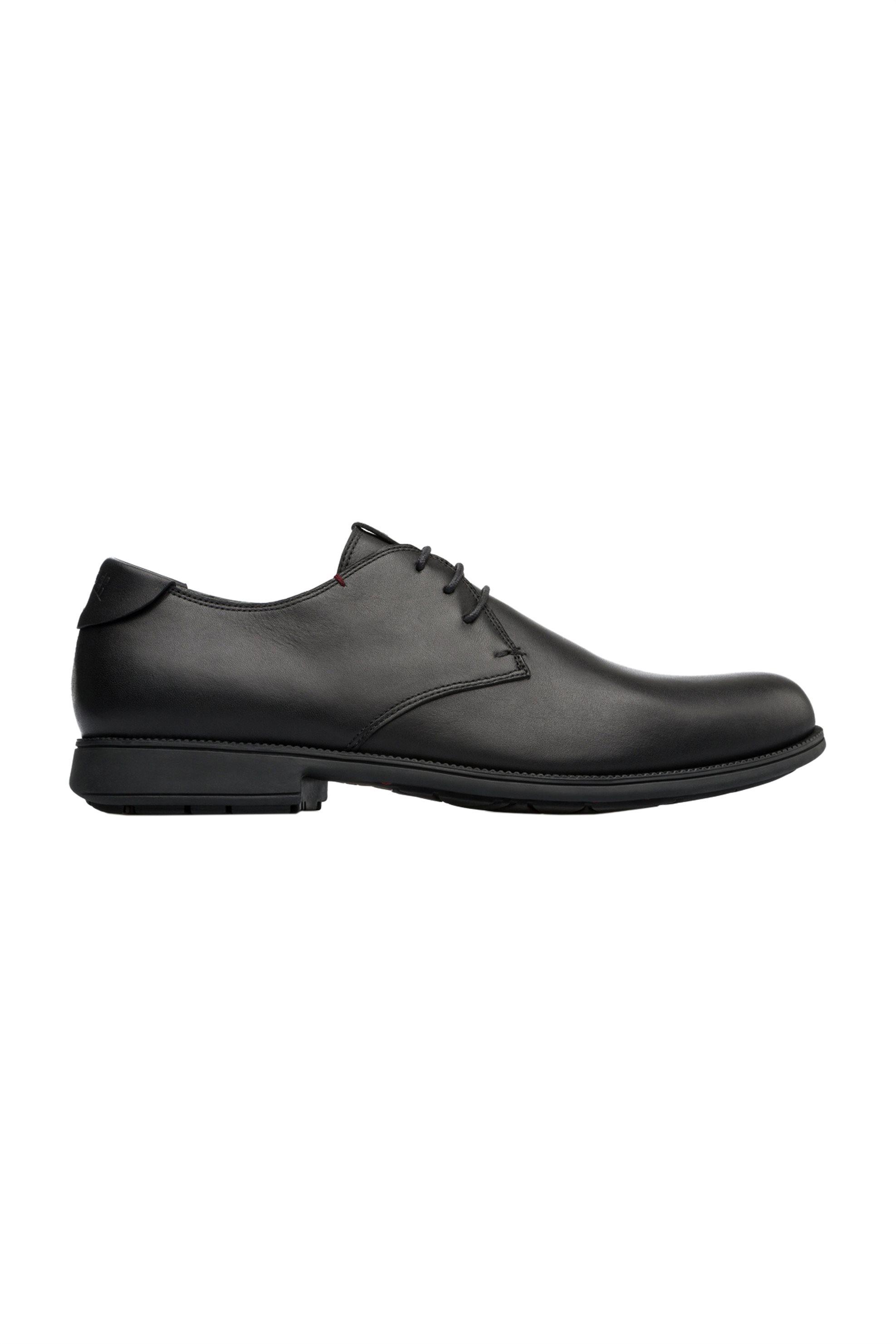 Camper ανδρικά δερμάτινα παπούτσια Mil – 18552-074 – Μαύρο