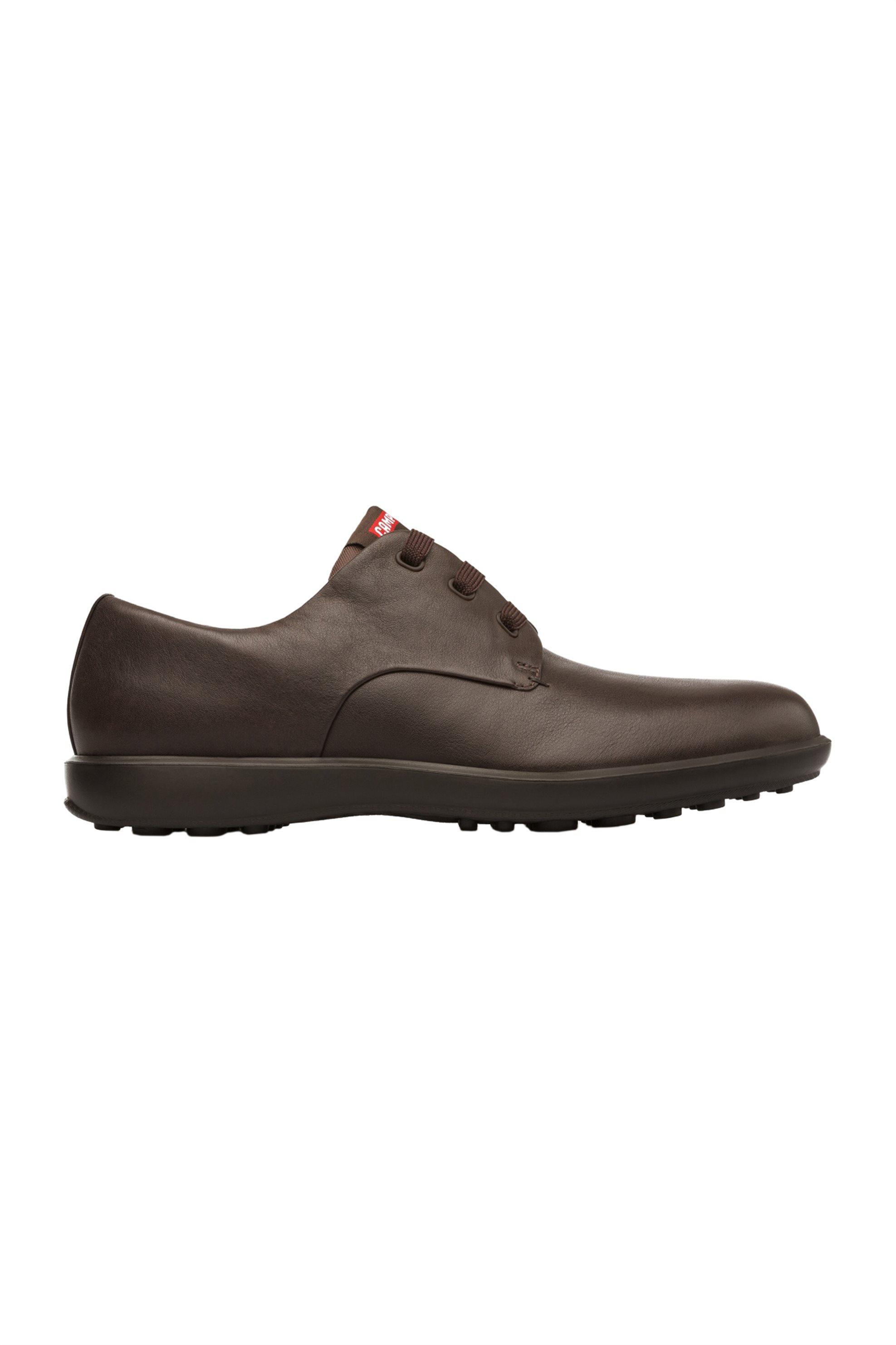 Camper ανδρικά δερμάτινα παπούτσια Atom Work – 18637-036 – Καφέ