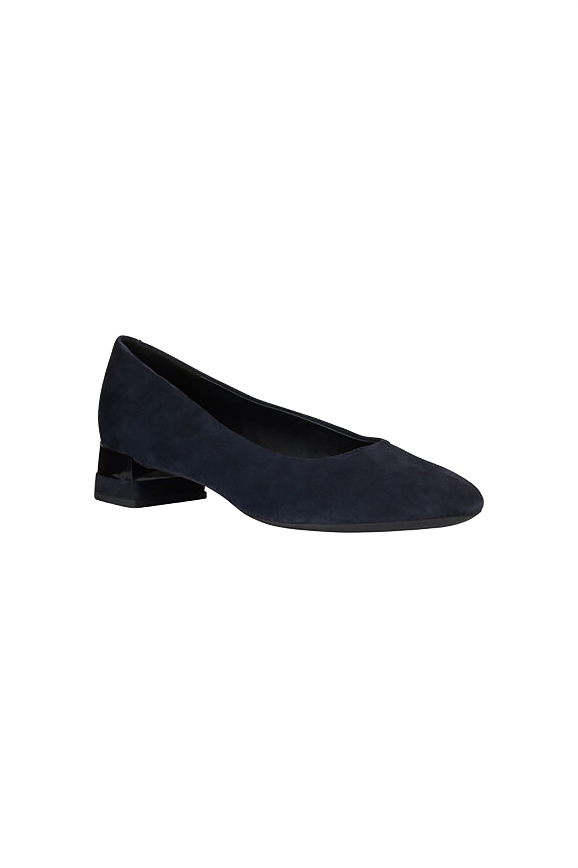 Geox γυναικείες suede γόβες «D CHLOO» – D949XB – Μπλε Σκούρο