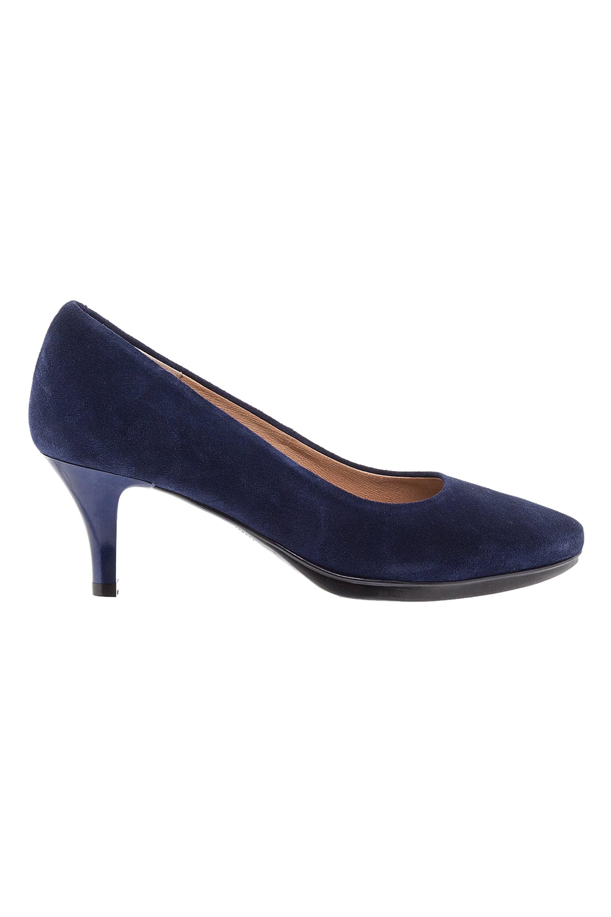 Avvento γυναικεία suede γόβα - DΕS-91060 Κ19 - Μπλε Σκούρο