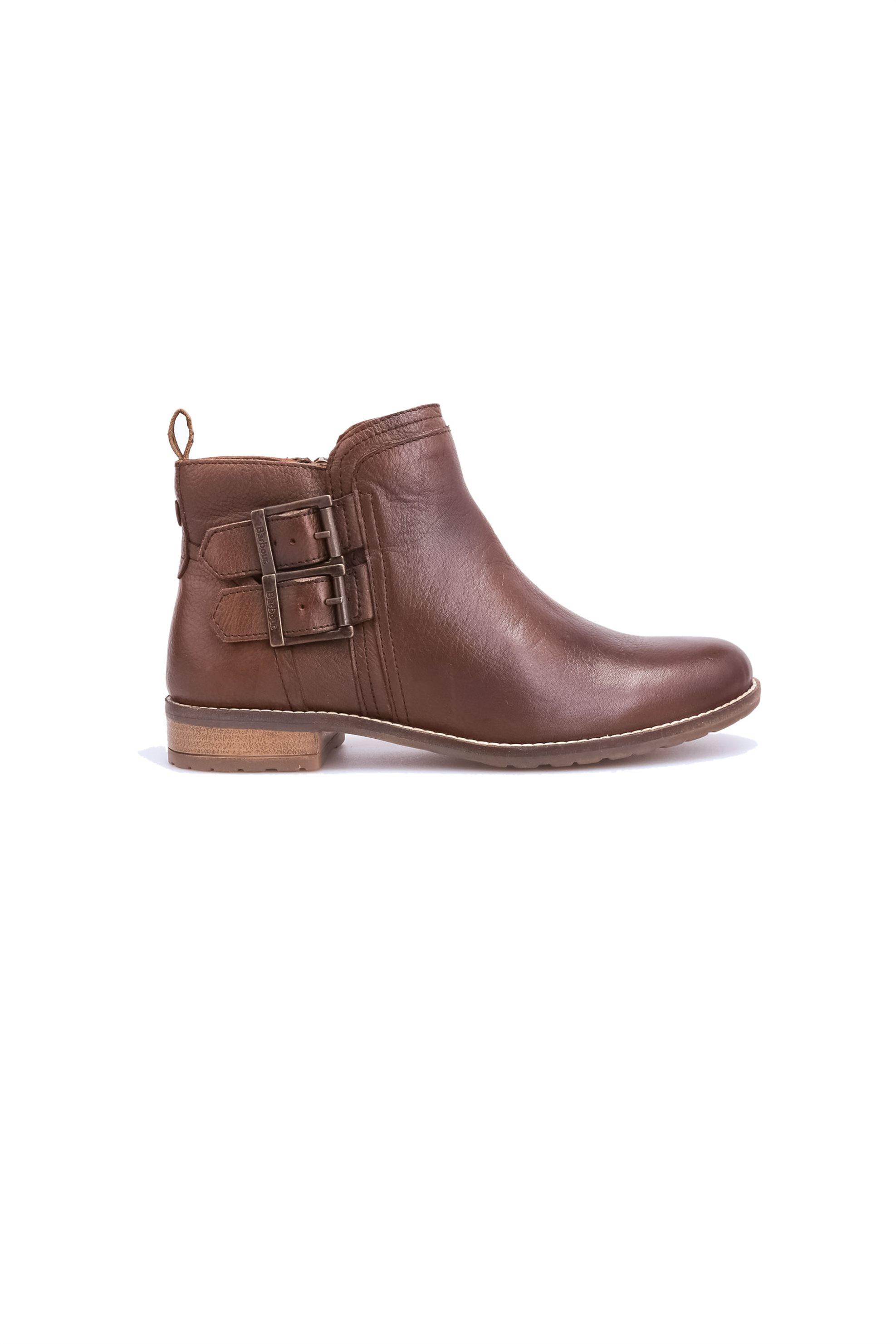 Barbour γυναικεία μποτάκια Sarah Low Buckle Boot – LFO0212 – Καφέ