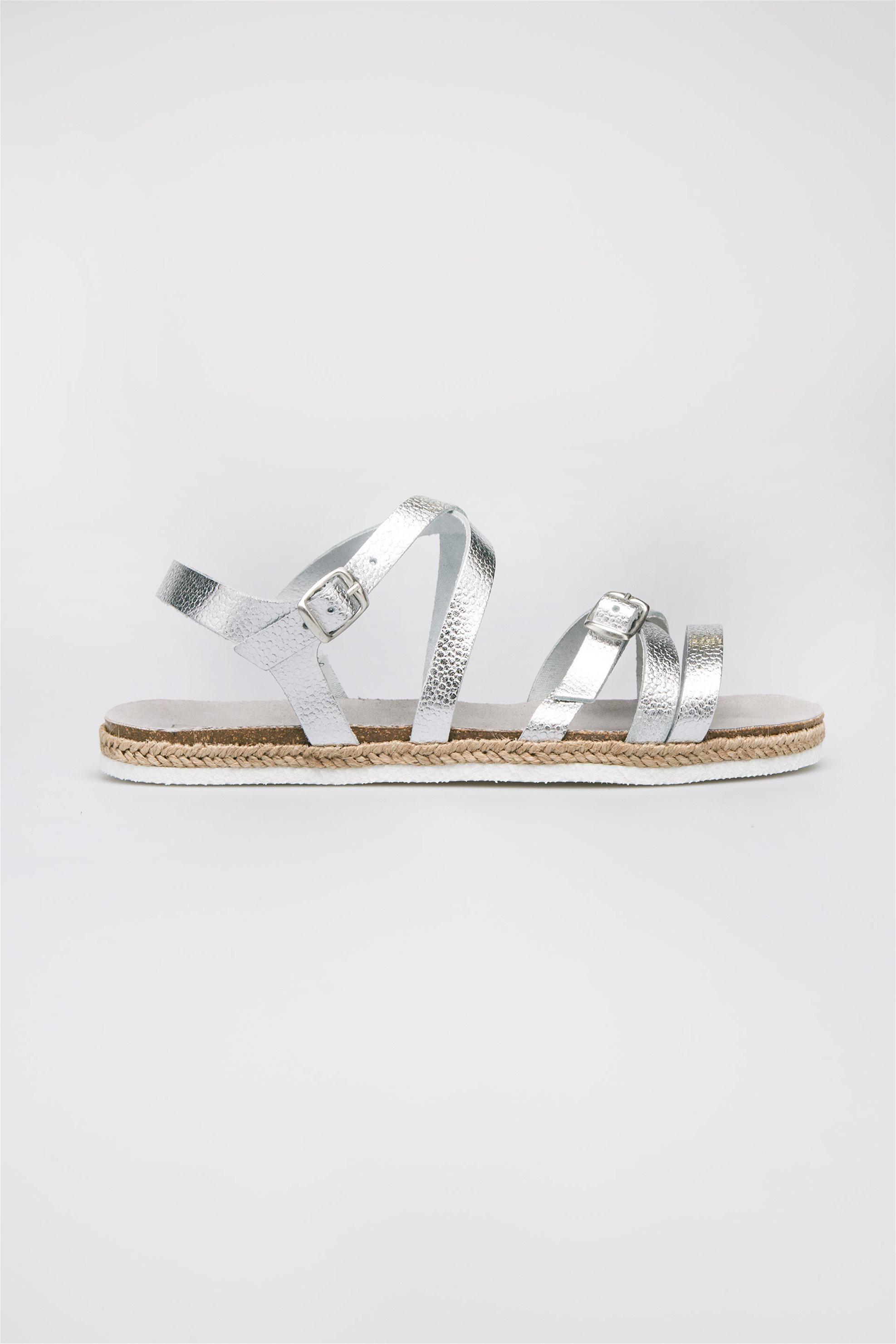 Γυναικεία παπούτσια Esprit - 047EK1W038 - Ασημί
