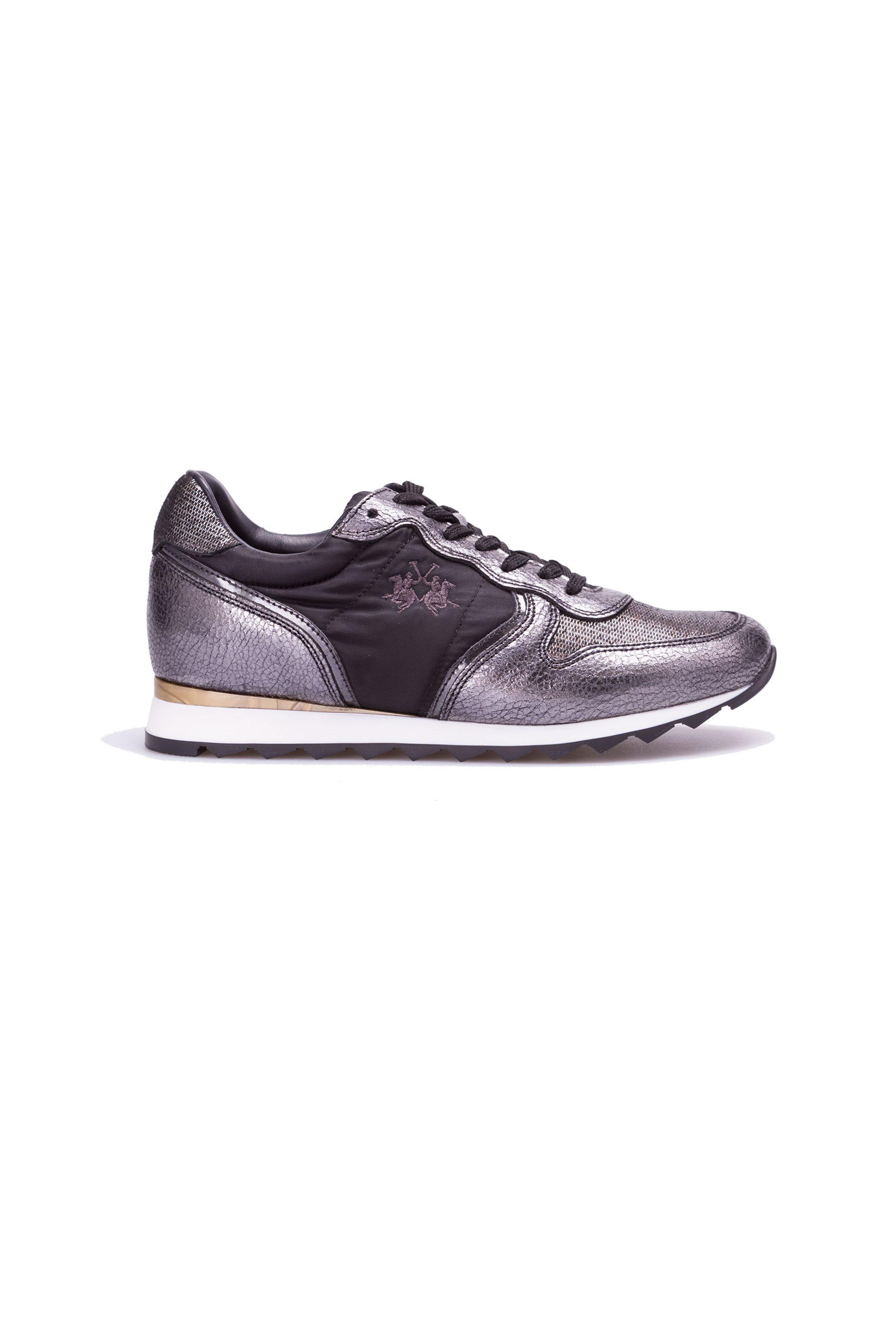 Γυναικεία παπούτσια La Martina – L4140241 – Ασημί