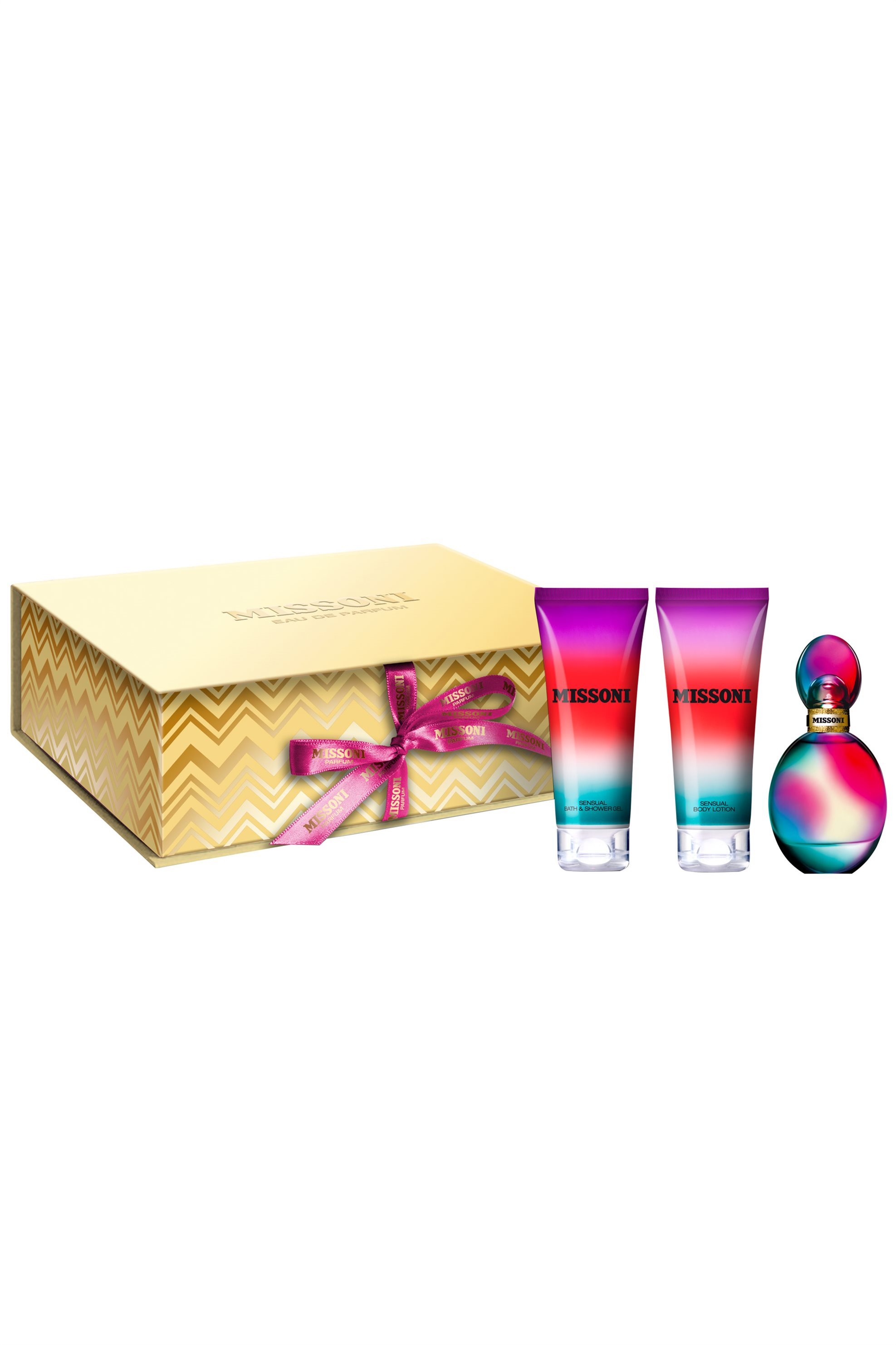 Missoni Missoni Set EdP 50 ml with body lotion & shower gel - 8000447 ομορφια   σετ προϊοντων