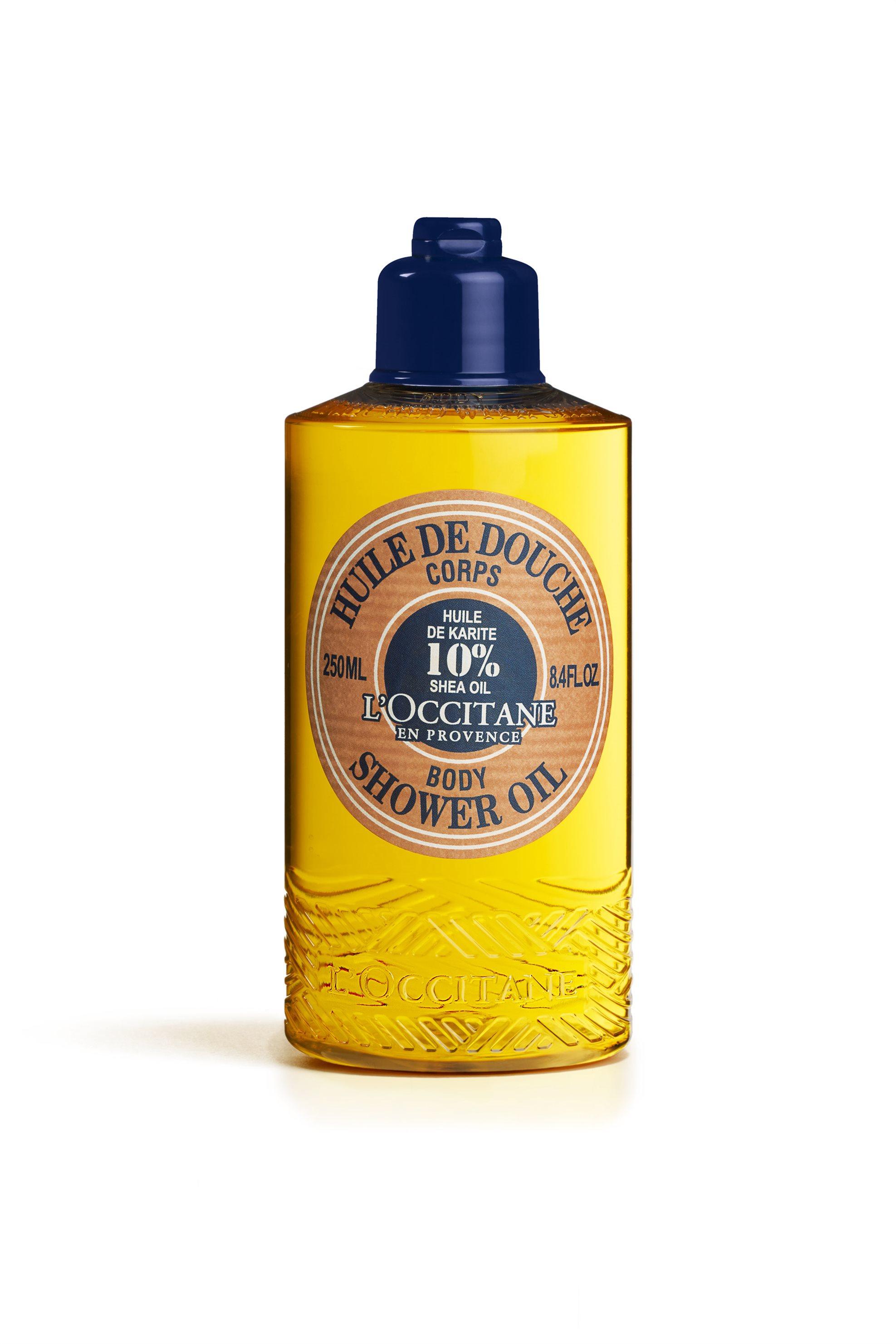 L' Occitane En Provence Shea Butter Shower Oil 250 ml - 3253581479940 ομορφια   φυτικα καλλυντικα   περιποίηση σώματος   αφρόλουτρα   scrubs