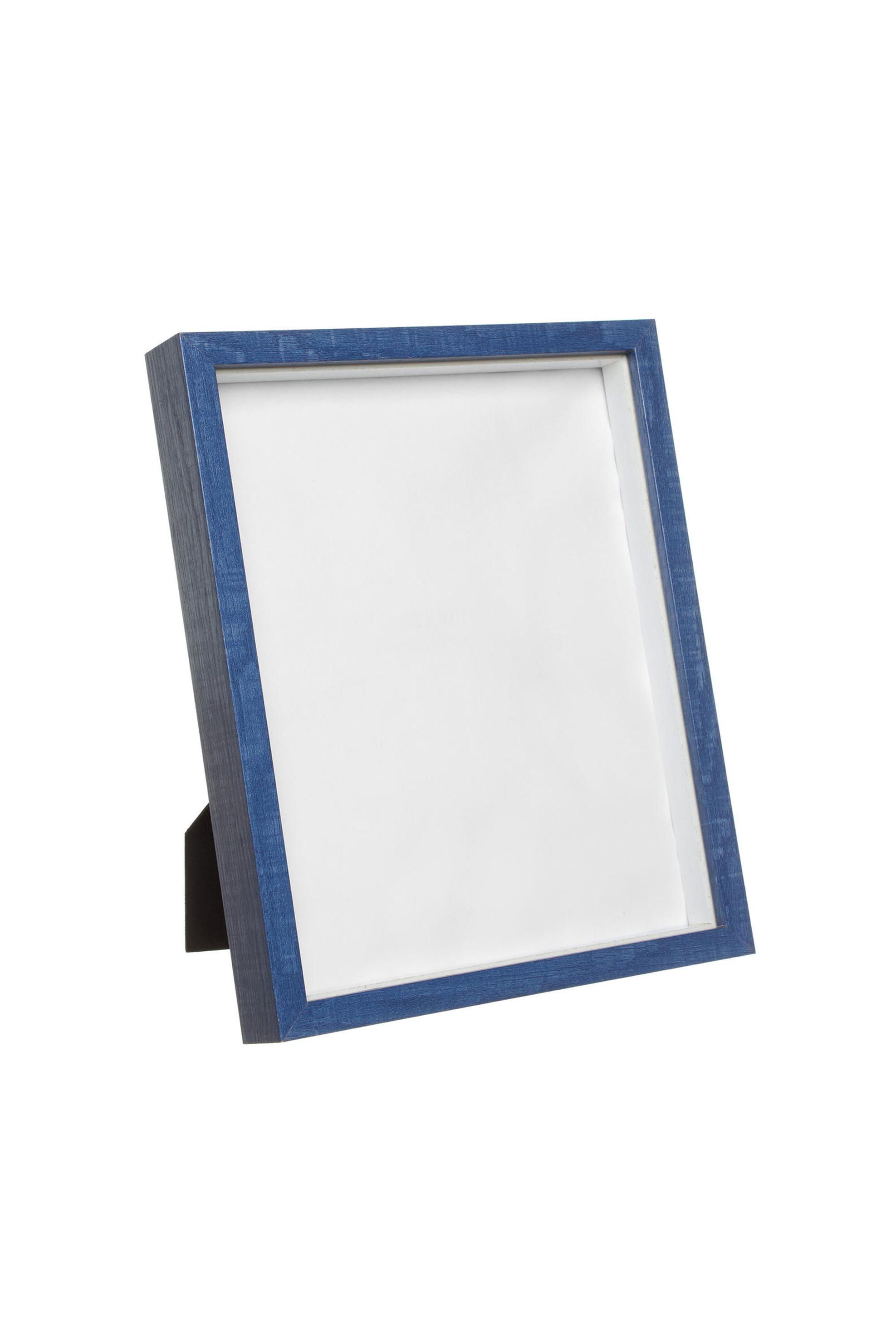 Κορνίζα με μπλέ πλαίσιο ξύλου 25x20 Coincasa - 005621182 - Μπλε home   σαλονι   κορνίζες