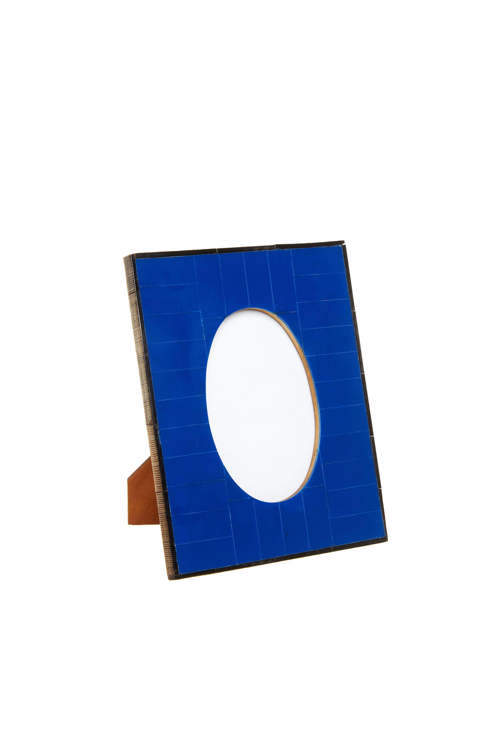Κορνίζα με πλαίσιο από χρωματιστό κόκκαλο 15x10 Coincasa - 005621294 - Μπλε home   σαλονι   κορνίζες