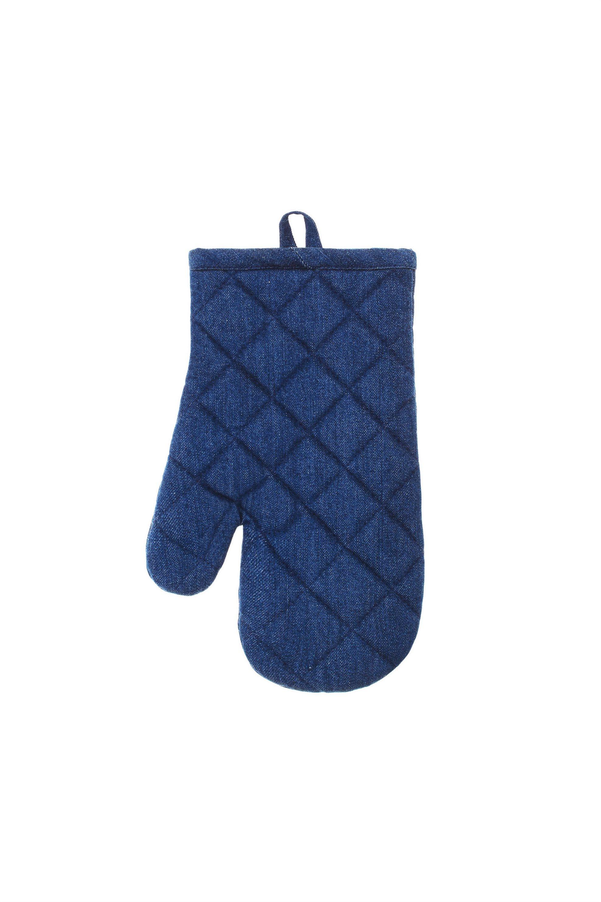 Γάντι φούρνου denim 28χ18 Coincasa - 000494792 - Μπλε home   κουζινα   αξεσουάρ kουζίνας   γάντια   πιάστρες κουζίνας