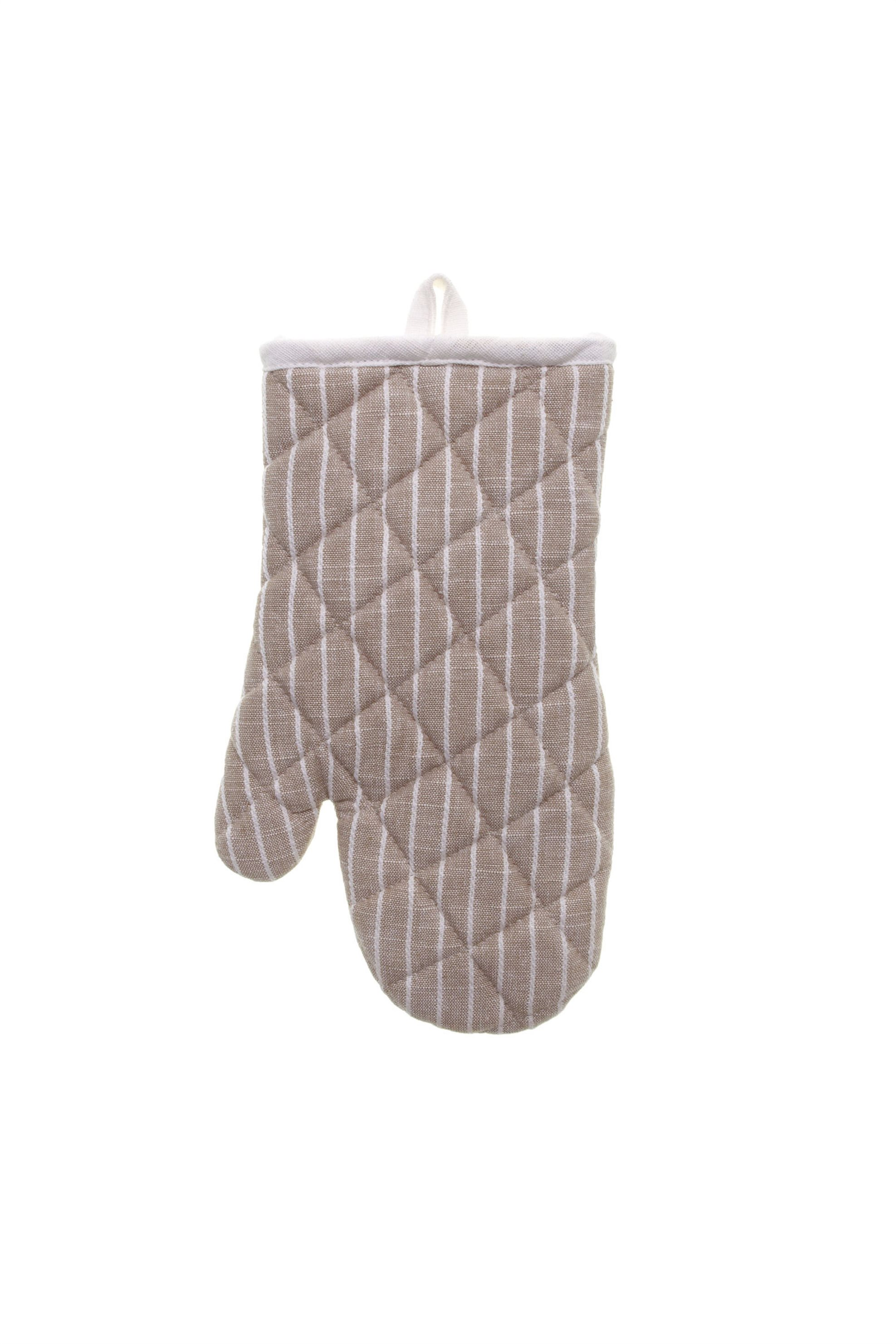 Γάντι φούρνου ριγέ 27χ17 Coincasa - 000487876 - Μπεζ home   κουζινα   αξεσουάρ kουζίνας   γάντια   πιάστρες κουζίνας