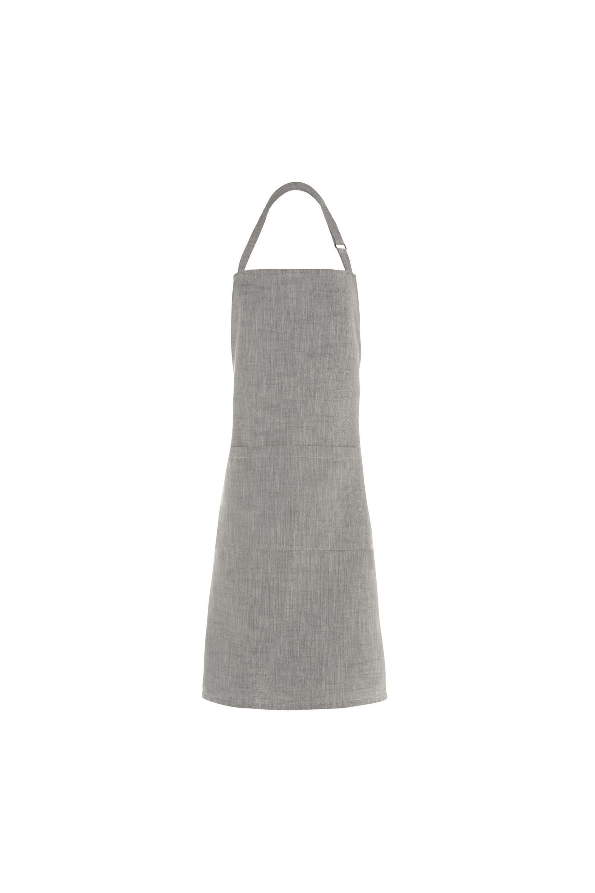 Ποδιά κουζίνας μονόχρωμη Coincasa - 000495325 - Γκρι home   κουζινα   ποδιές κουζίνας