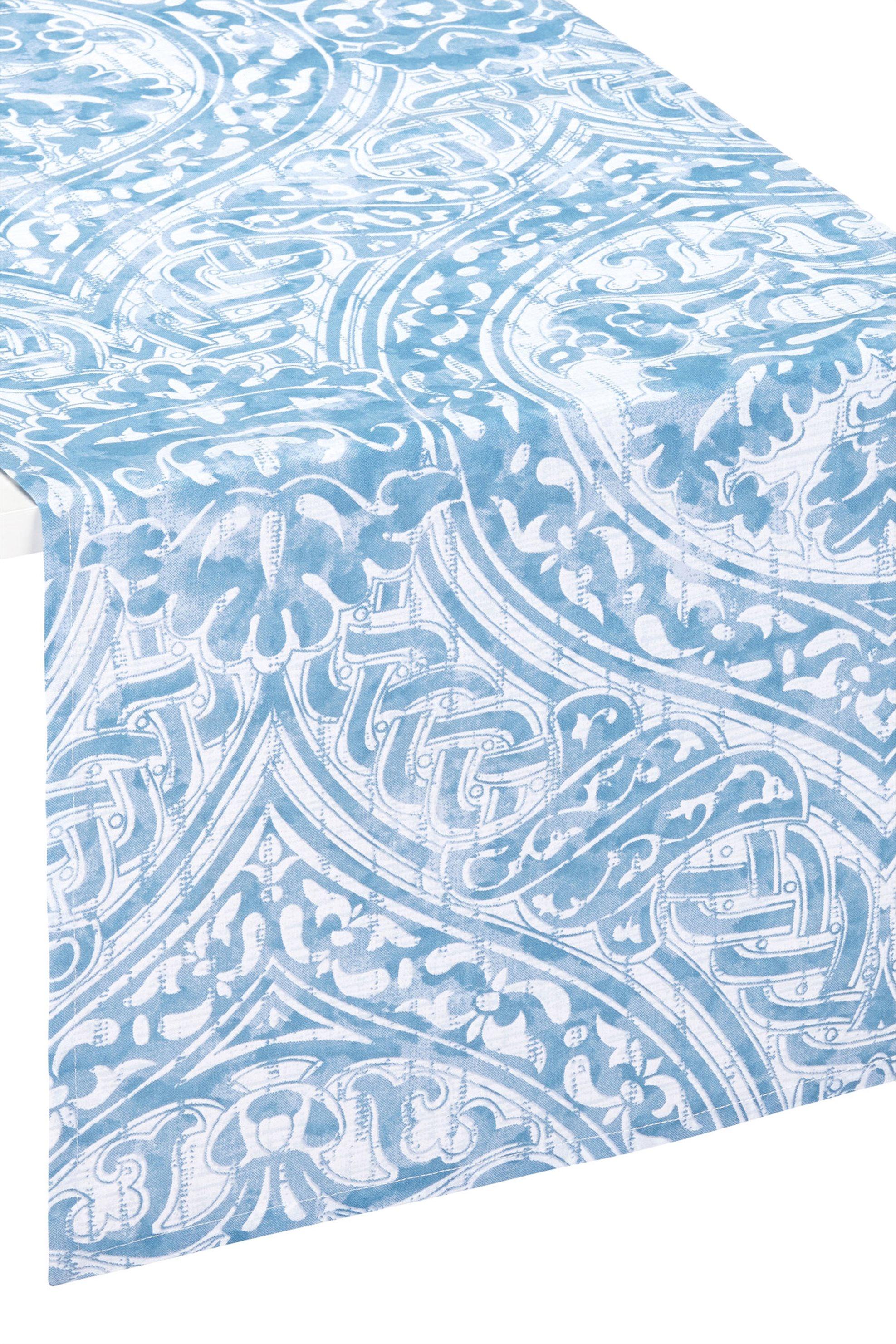 Ράνερ damask print 120 x 40 cm Coincasa - 000496083 - Κοραλί home   κουζινα   τραβέρσες   ράνερ