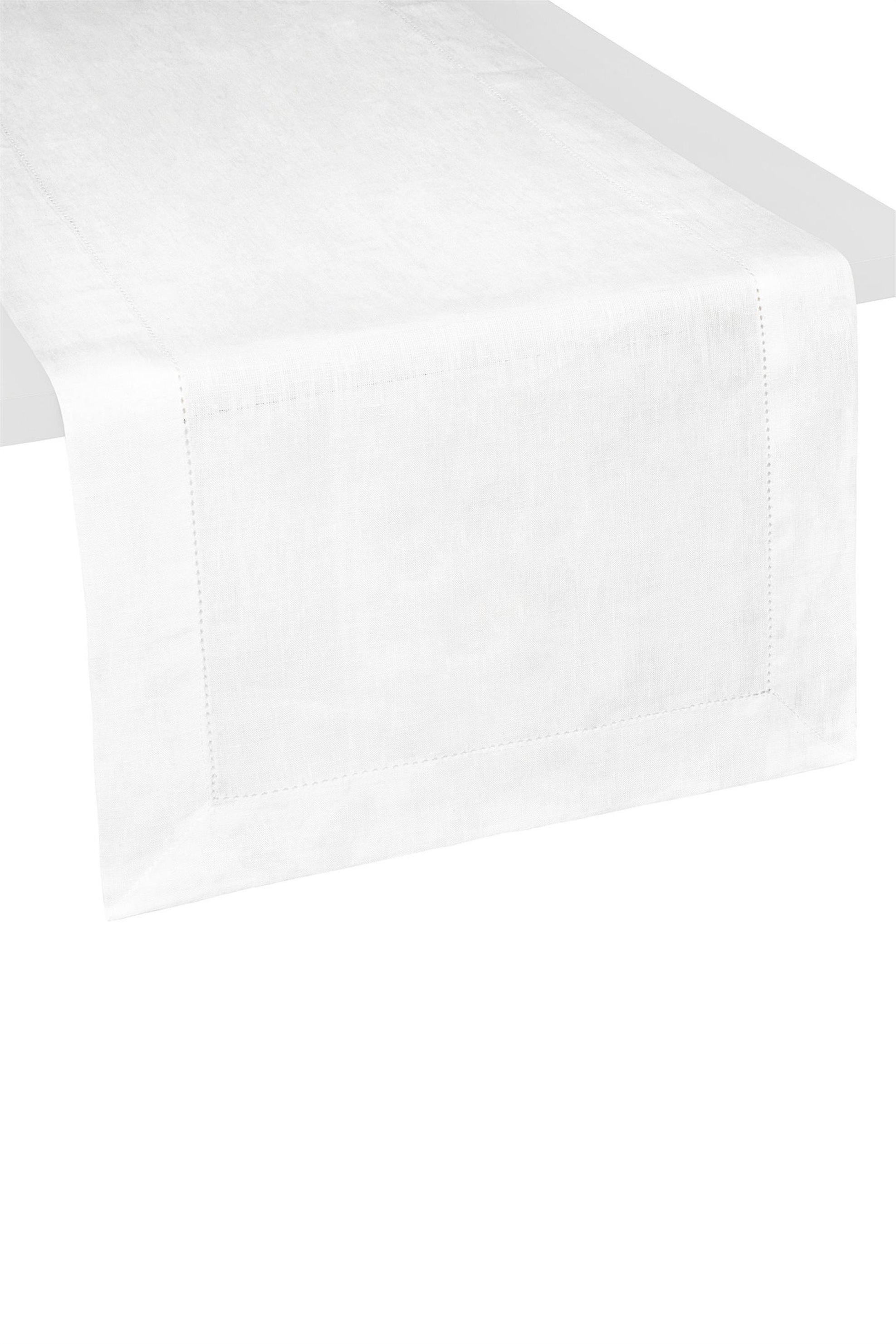 Ράνερ λευκό 40 χ160 cm Coincasa - 000495293 - Λευκό home   κουζινα   τραβέρσες   ράνερ