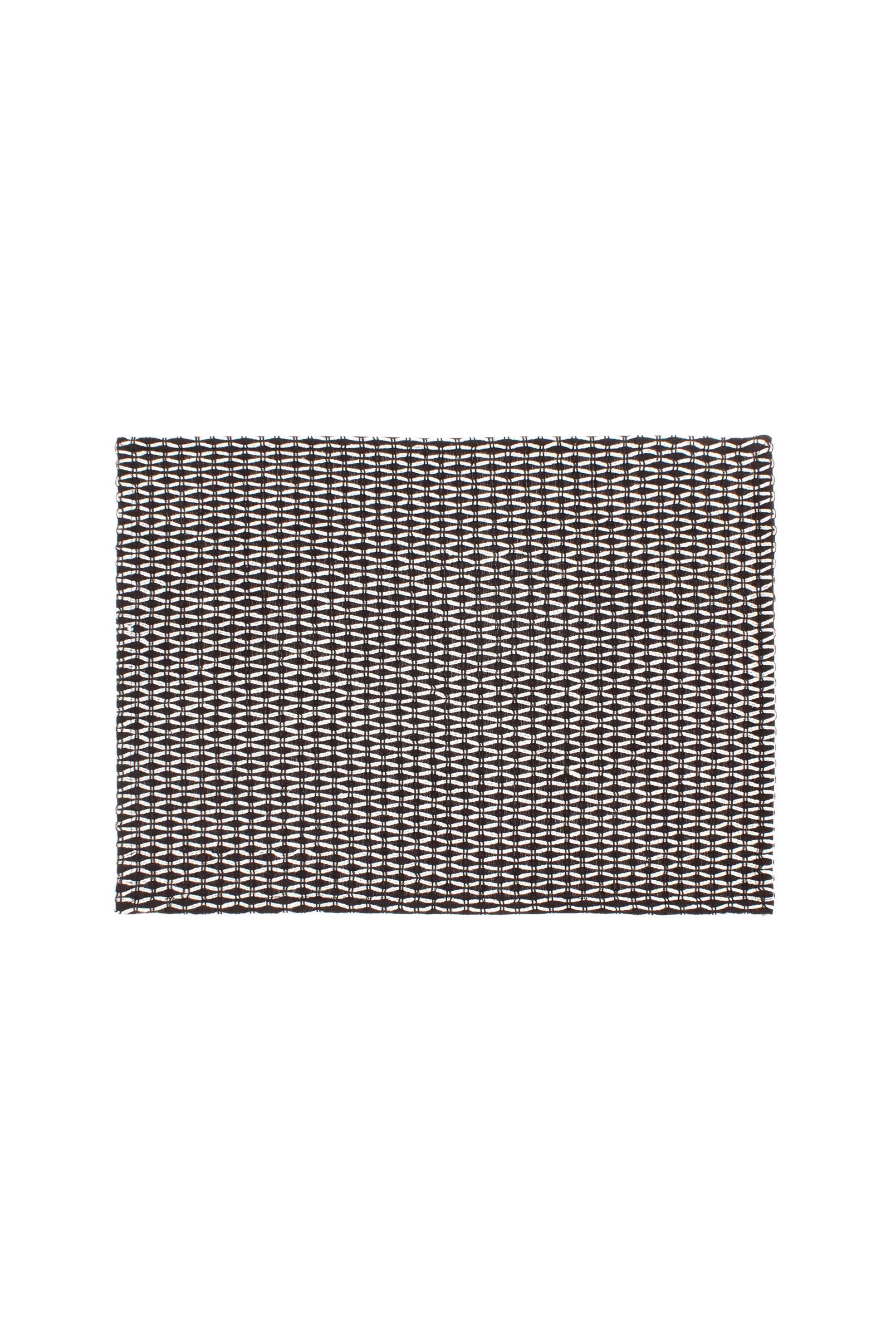 Σουπλά με γεωμετρικό σχέδιο 140 x 40 cm Coincasa - 000495907 - Μαύρο home   κουζινα   σουπλά