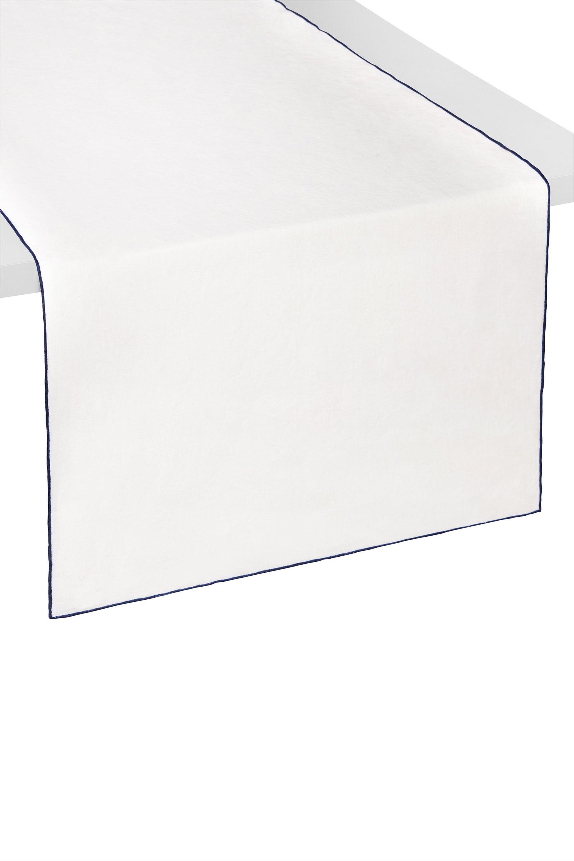 Ράνερ με λεπτομέρεια στις άκρες σε άλλο χρώμα 45 χ 150 cm Coincasa - 000494744 - home   κουζινα   τραβέρσες   ράνερ