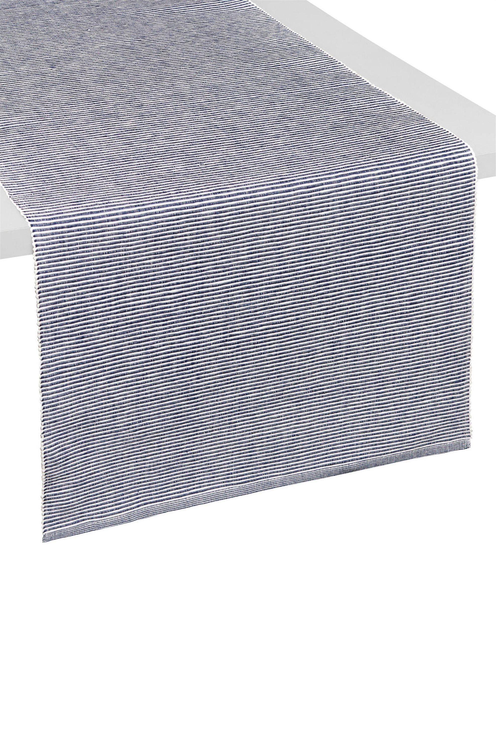 Ράνερ με ρίγες 40 x 140 cm Coincasa - 000494807 - Μπλε home   κουζινα   τραβέρσες   ράνερ