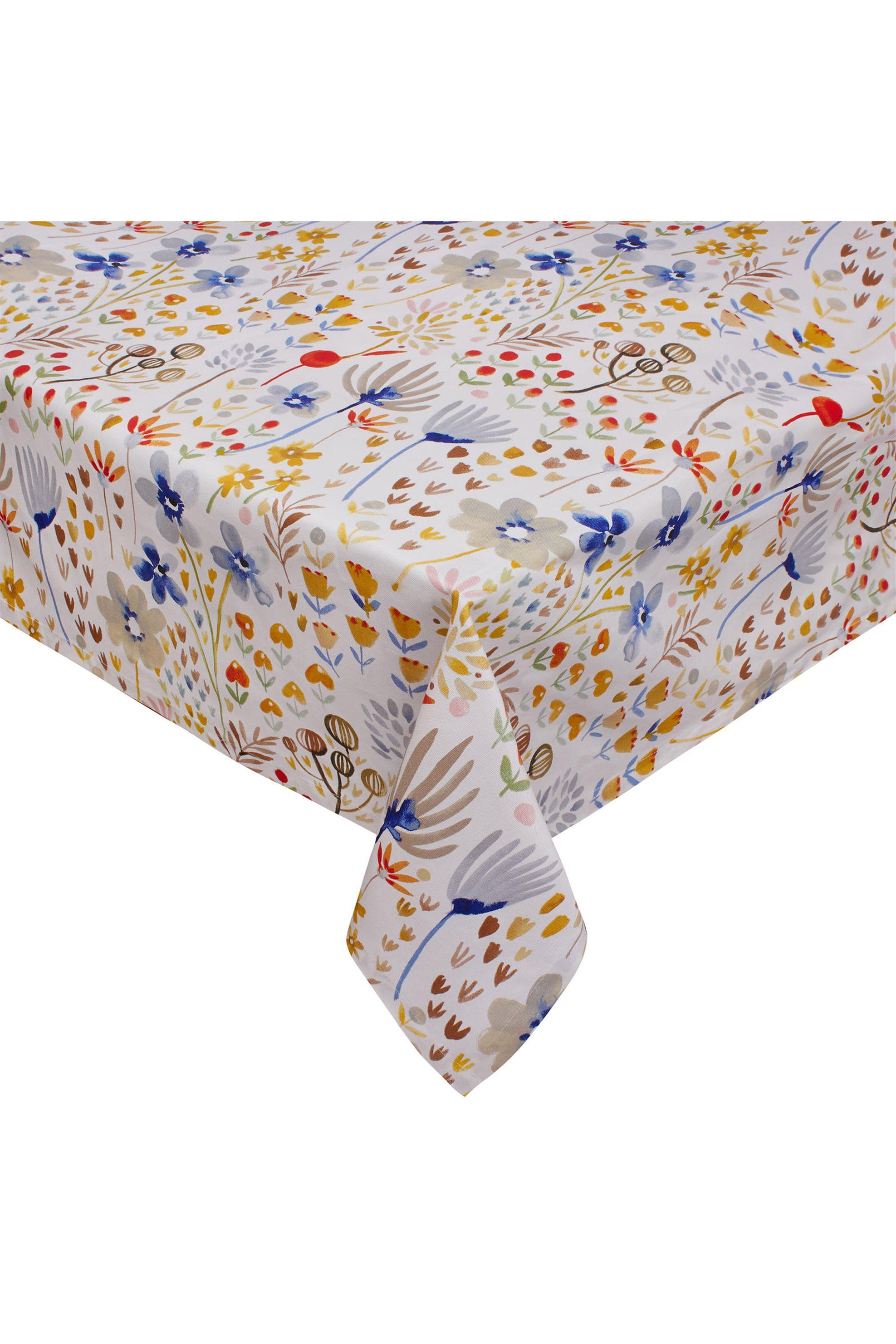 Τραπεζομάντηλο με floral σχέδιο 70 χ 70 cm Coincasa - 000495350 - Πολύχρωμο home   κουζινα   τραπεζομάντηλα