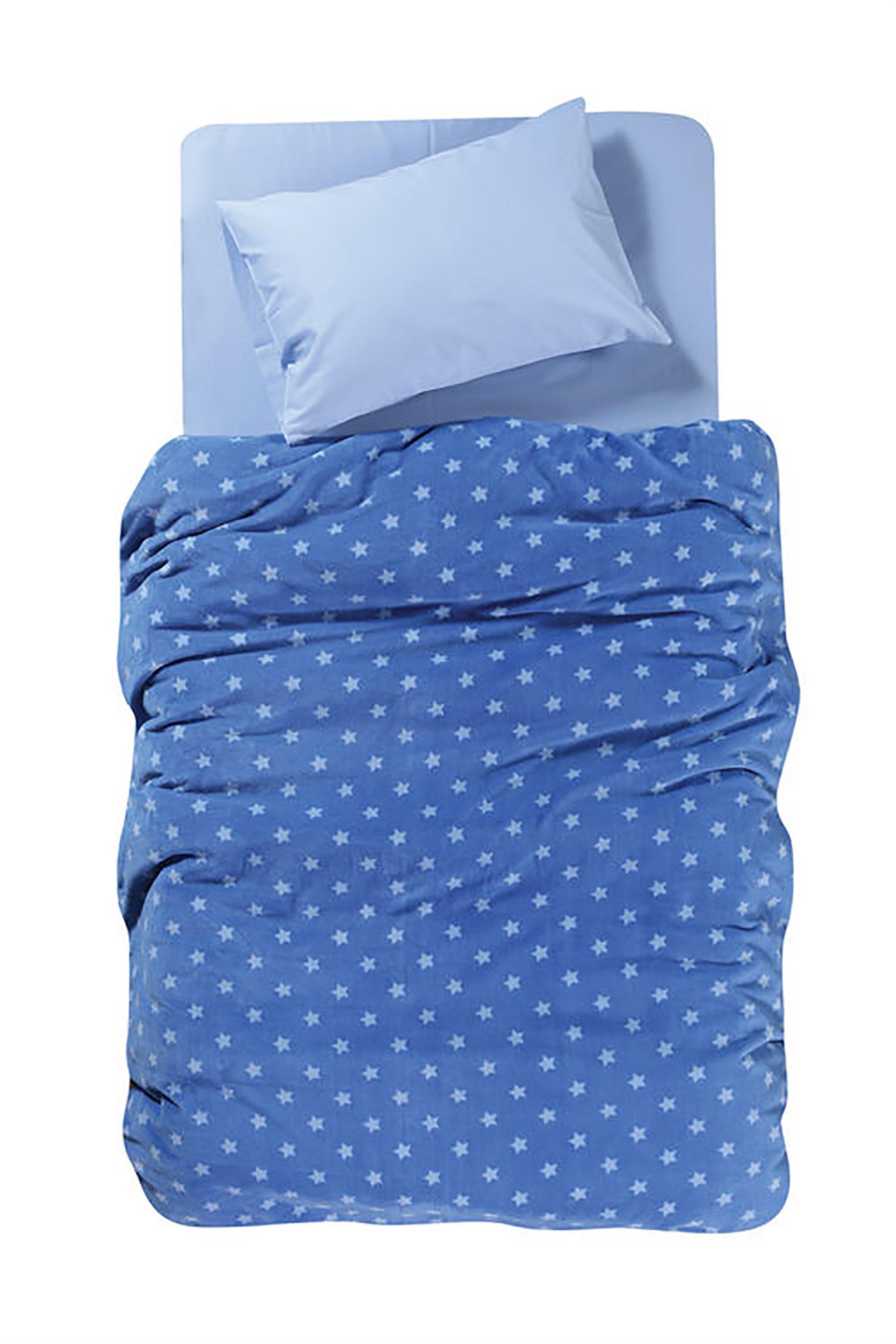 NEF-NEF Μονή κουβέρτα fleece Star Attack (160x220) - 019732 - Μπλε Ανοιχτό home   υπνοδωματιο   παιδια   κουβέρτες   κουβέρτες   κουβέρτα μονή
