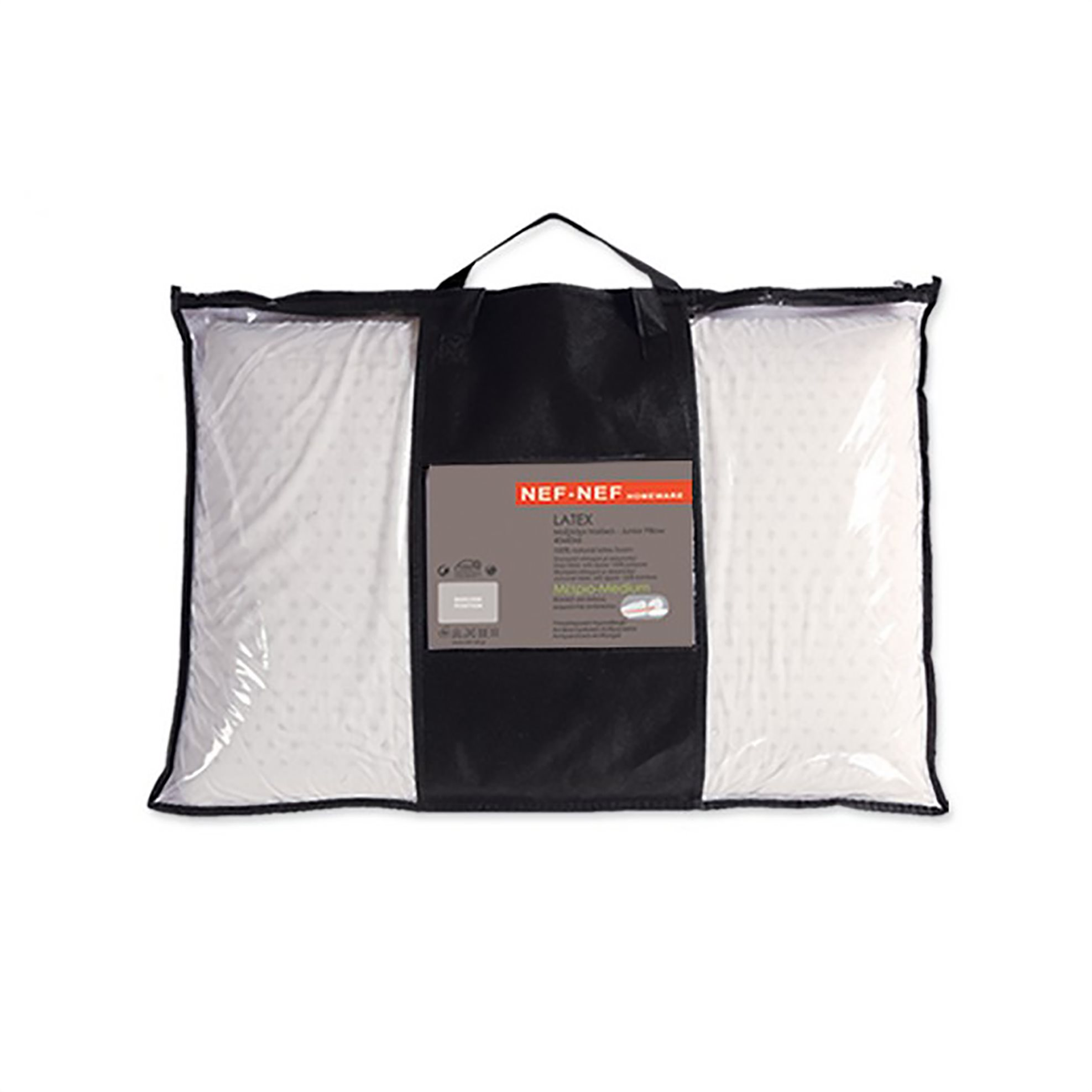 NEF-NEF Παιδικό μαξιλάρι latex (60x40x6) - 017275 - Λευκό home   παιδια   μαξιλάρια