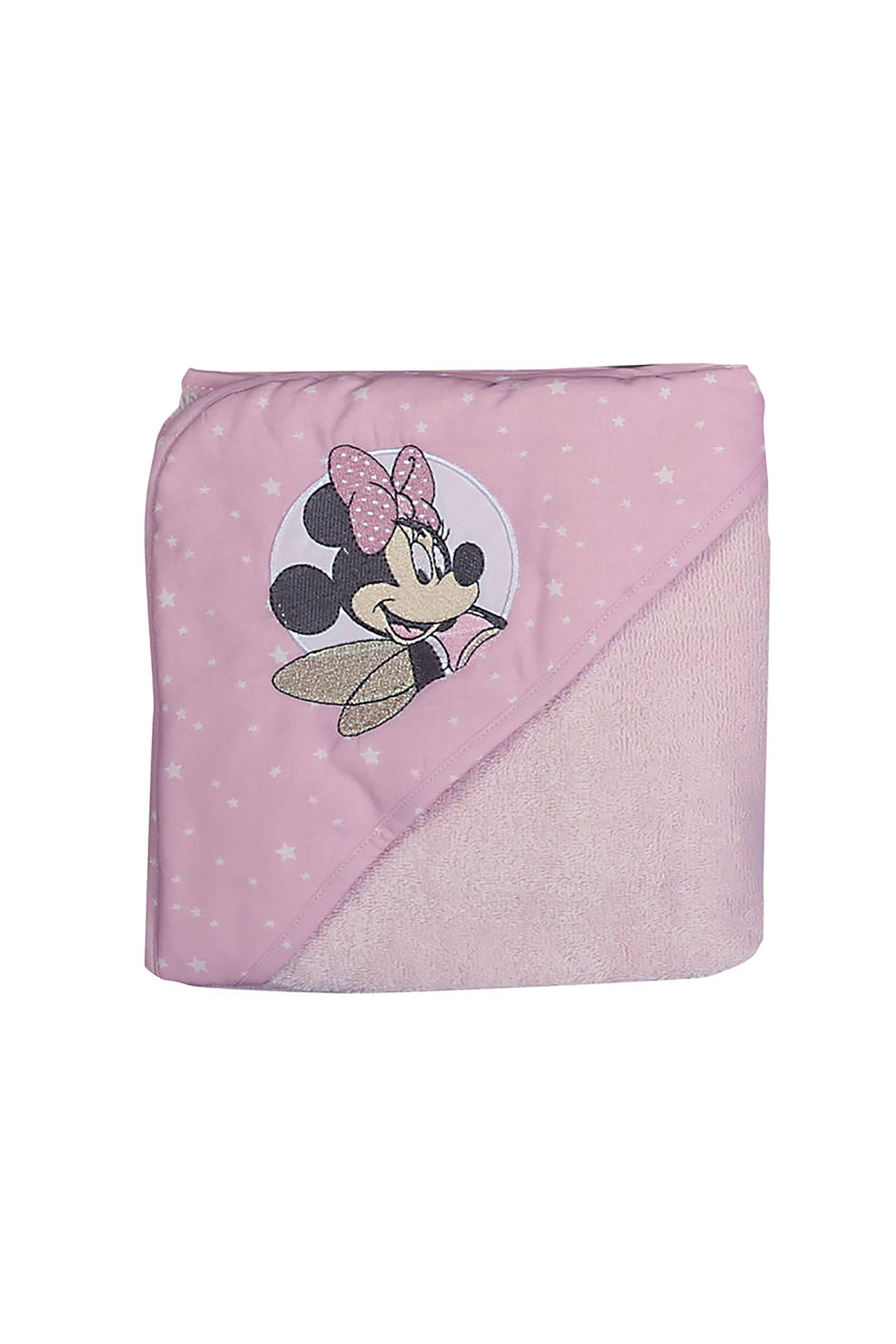 NEF-NEF Βρεφική κάπα Minnie Fairy (75x75)  - 021590 - Ροζ home   παιδια   παιδικά μπουρνούζια   ρόμπες   πετσέτες