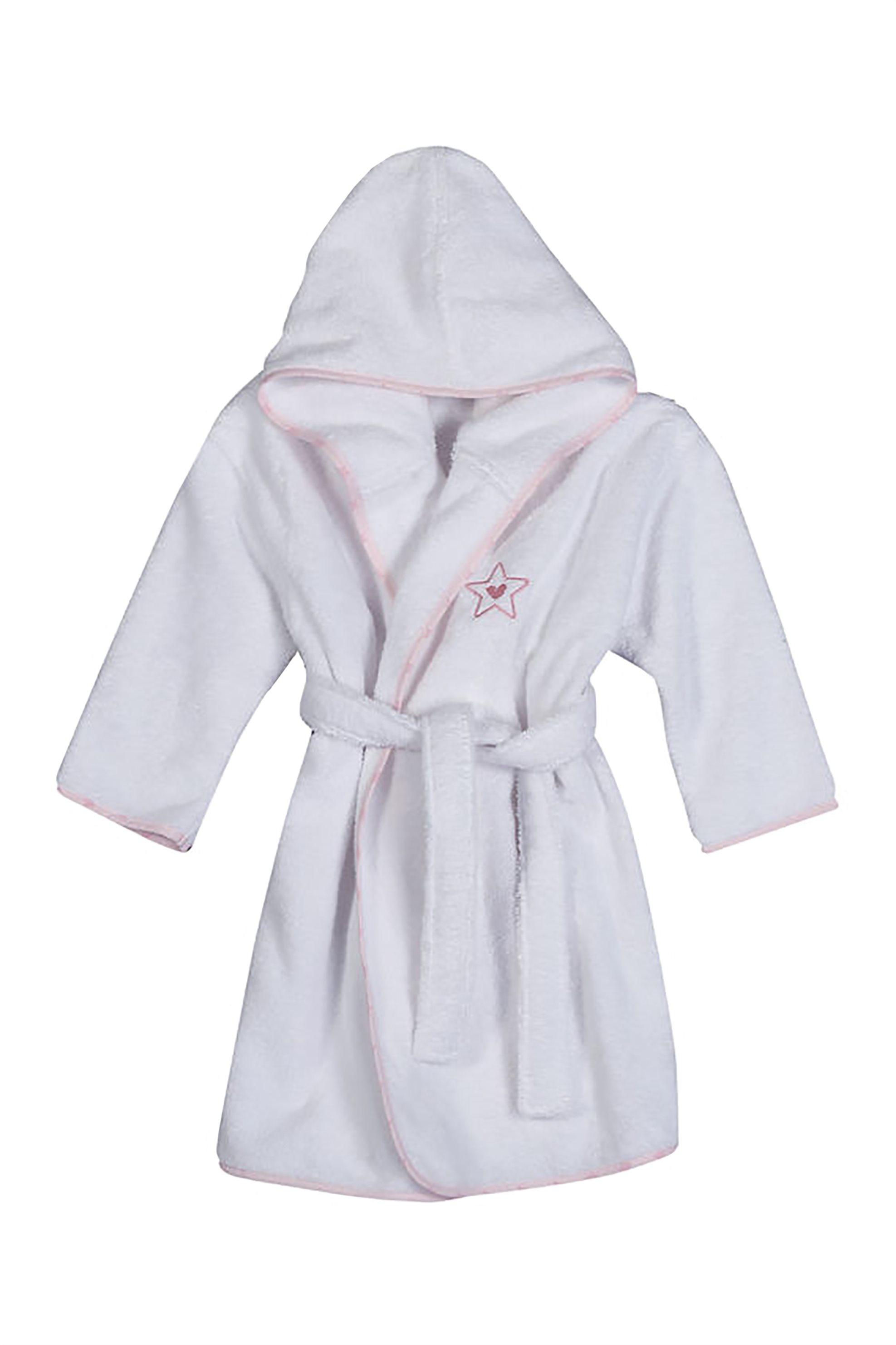 NEF-NEF Βρεφικό μπουρνούζι Dream& Wishes  - 021572 - Λευκό home   παιδια   παιδικά μπουρνούζια   ρόμπες