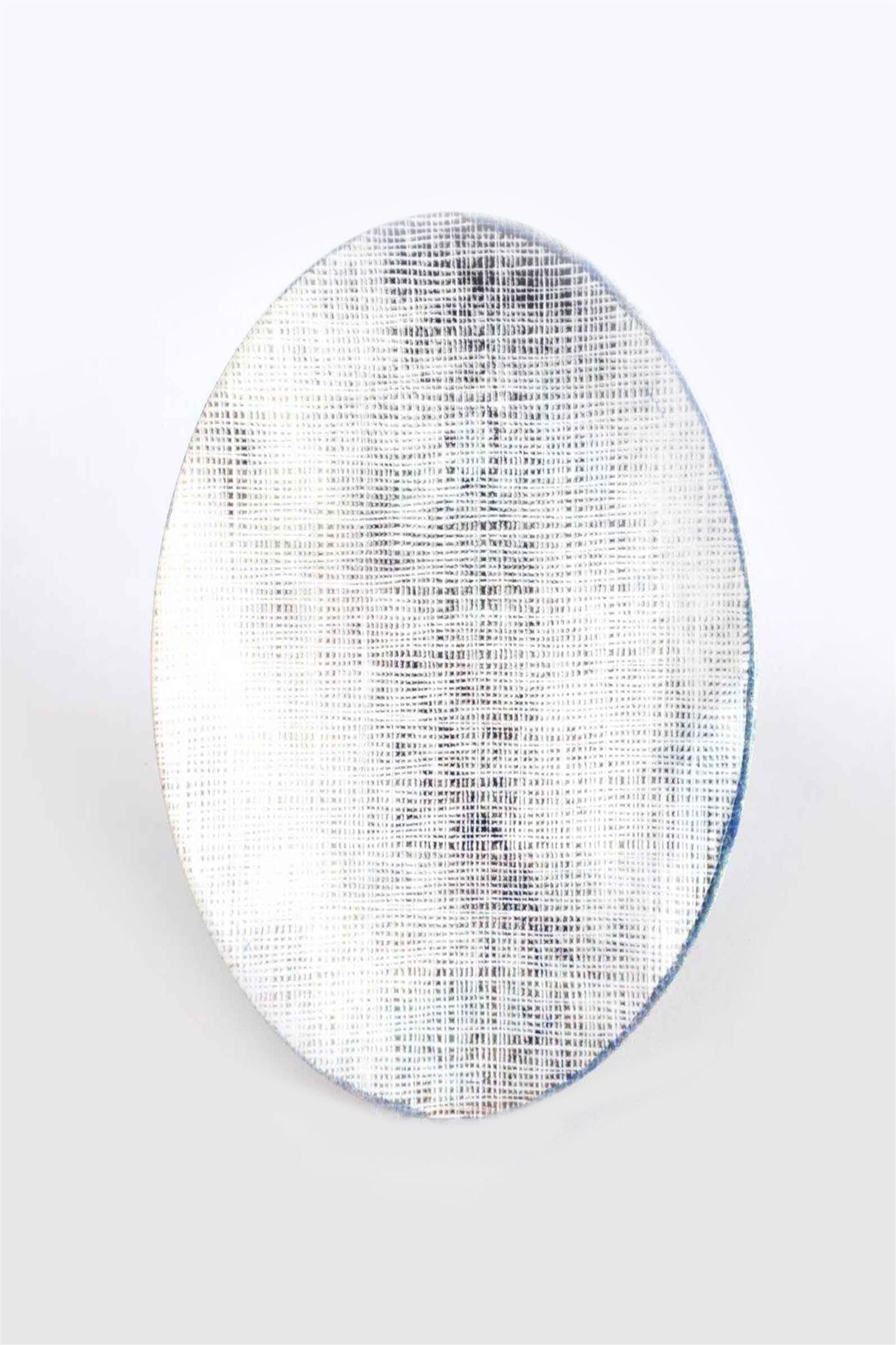 Marva πιάτο φαγητού κεραμικό με διακοσμητικό σχέδιο ''Siena'' 26 cm - 5203116238366 - Γκρι