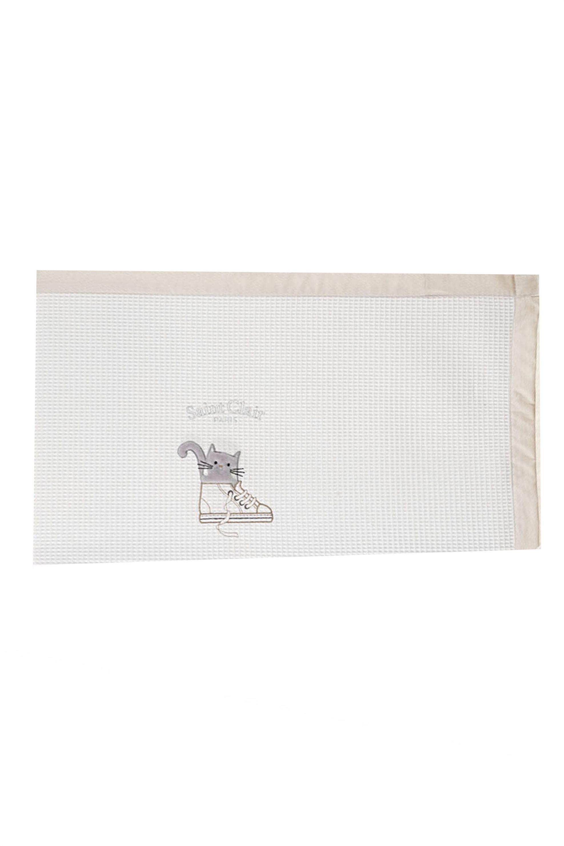Saint Clair Paris Κουβέρτα πικέ για βρεφικό δωμάτιο Max 110 x 150 cm - 171309021 home   παιδια   κουβέρτες