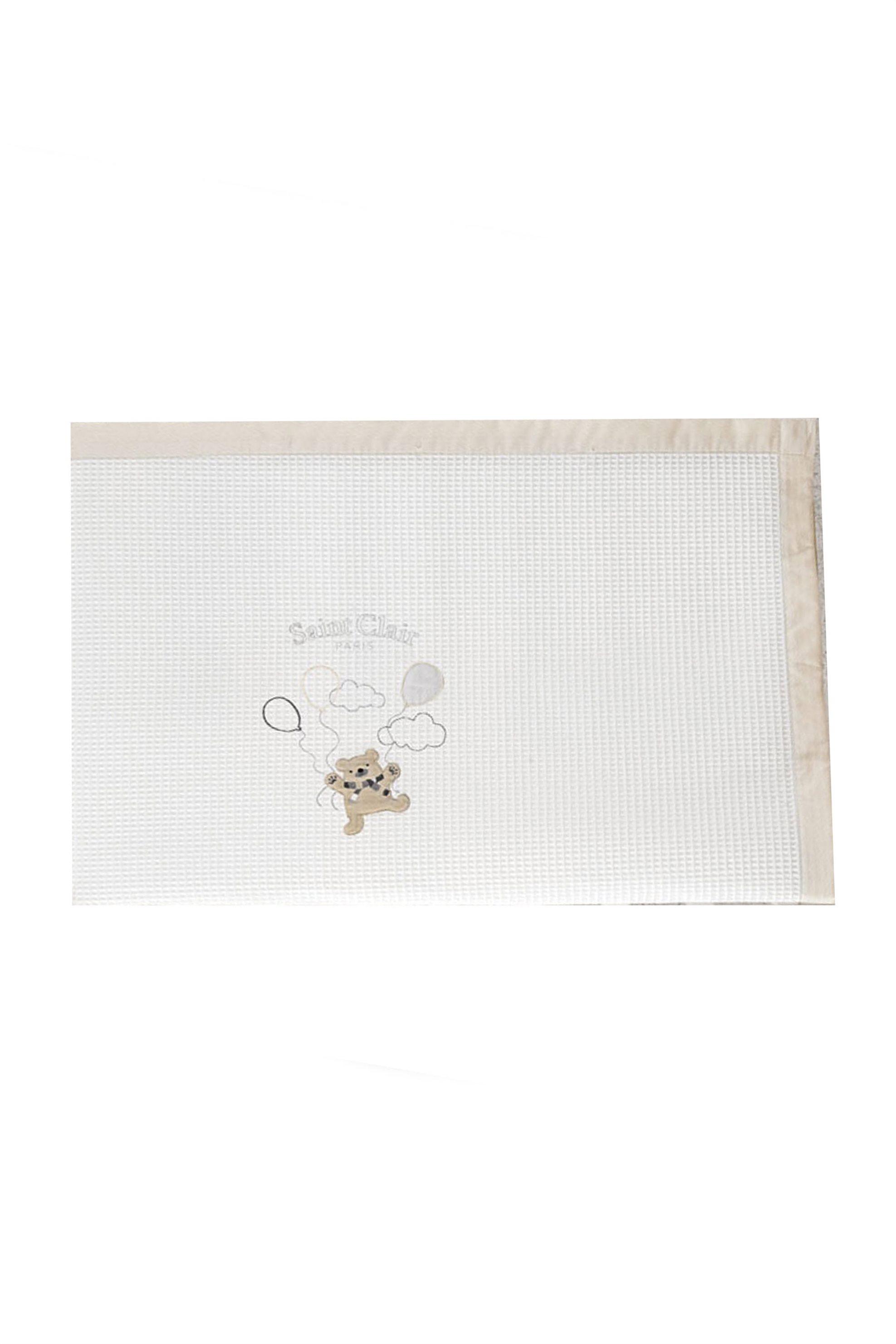 Saint Clair Paris Κουβέρτα πικέ για βρεφικό δωμάτιο Freddy 110 x 150 cm - 171309 home   παιδια   κουβέρτες