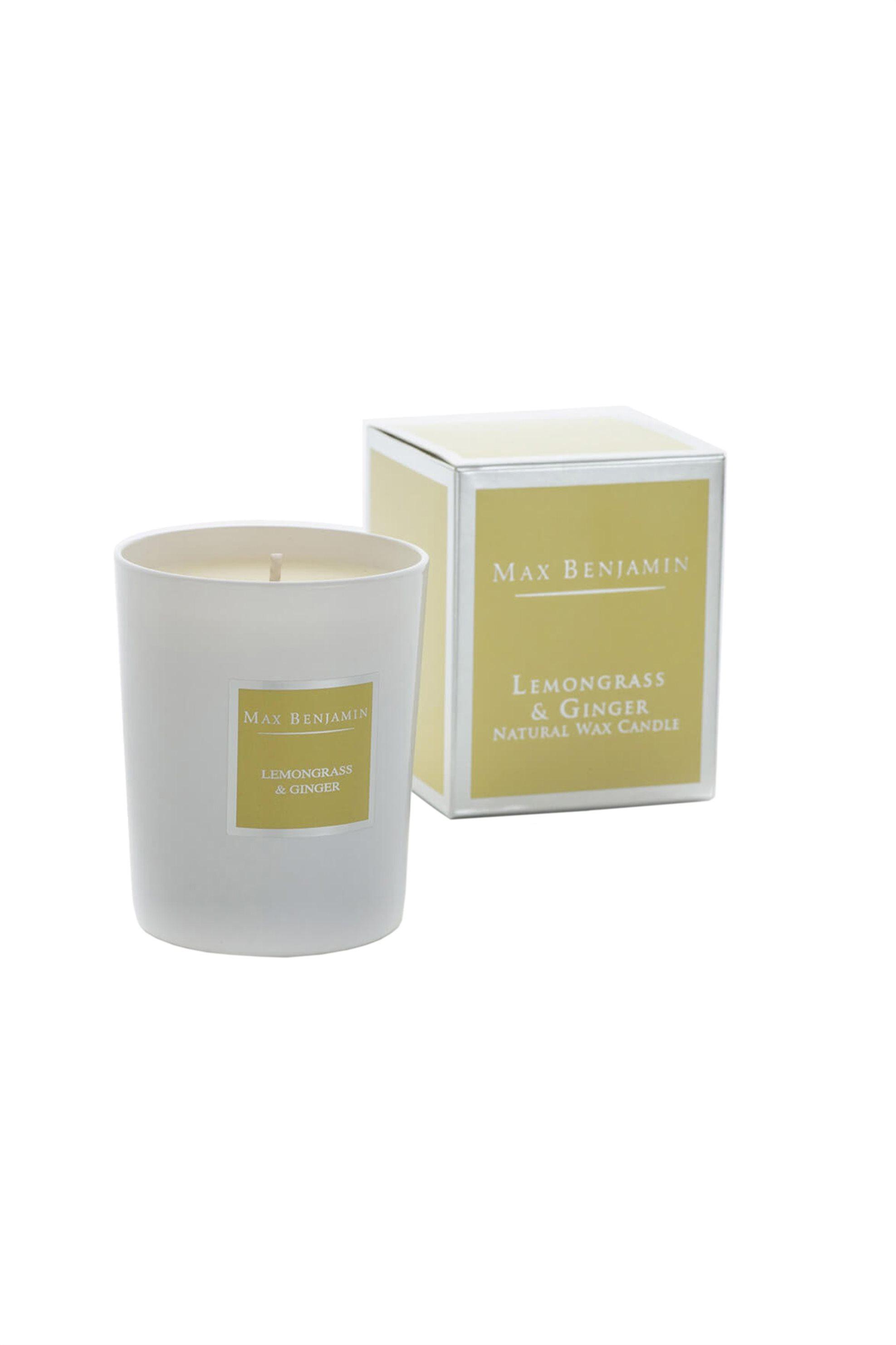 Max Benjamin αρωματικό κερί Lemongrass & Ginger - 155-3556 home   σαλονι   αρωματικά χώρου