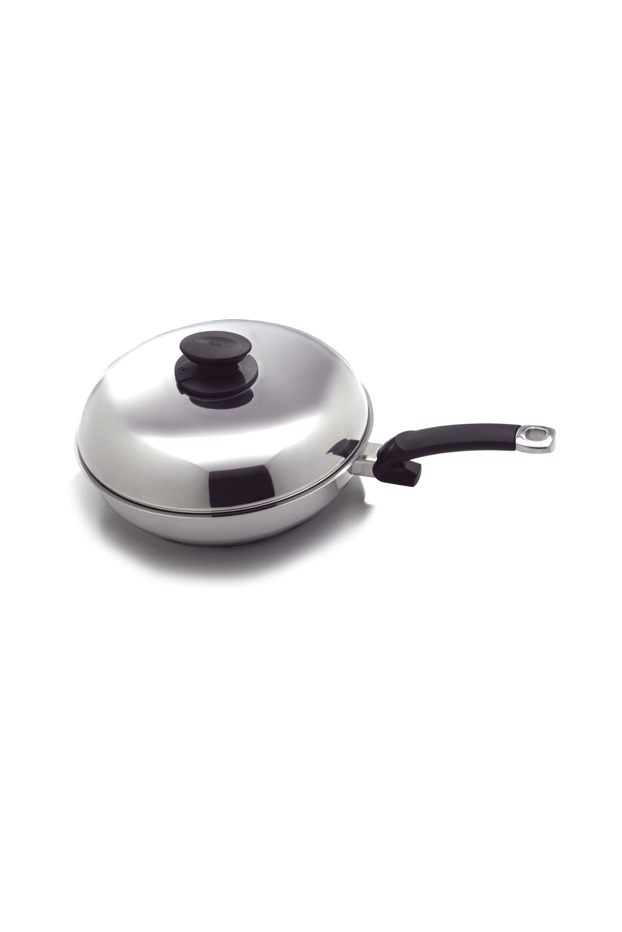 Τηγάνι 28cm Crispy Inox Coronal Fissler - 12110028 home   κουζινα   μαγειρικά σκεύη