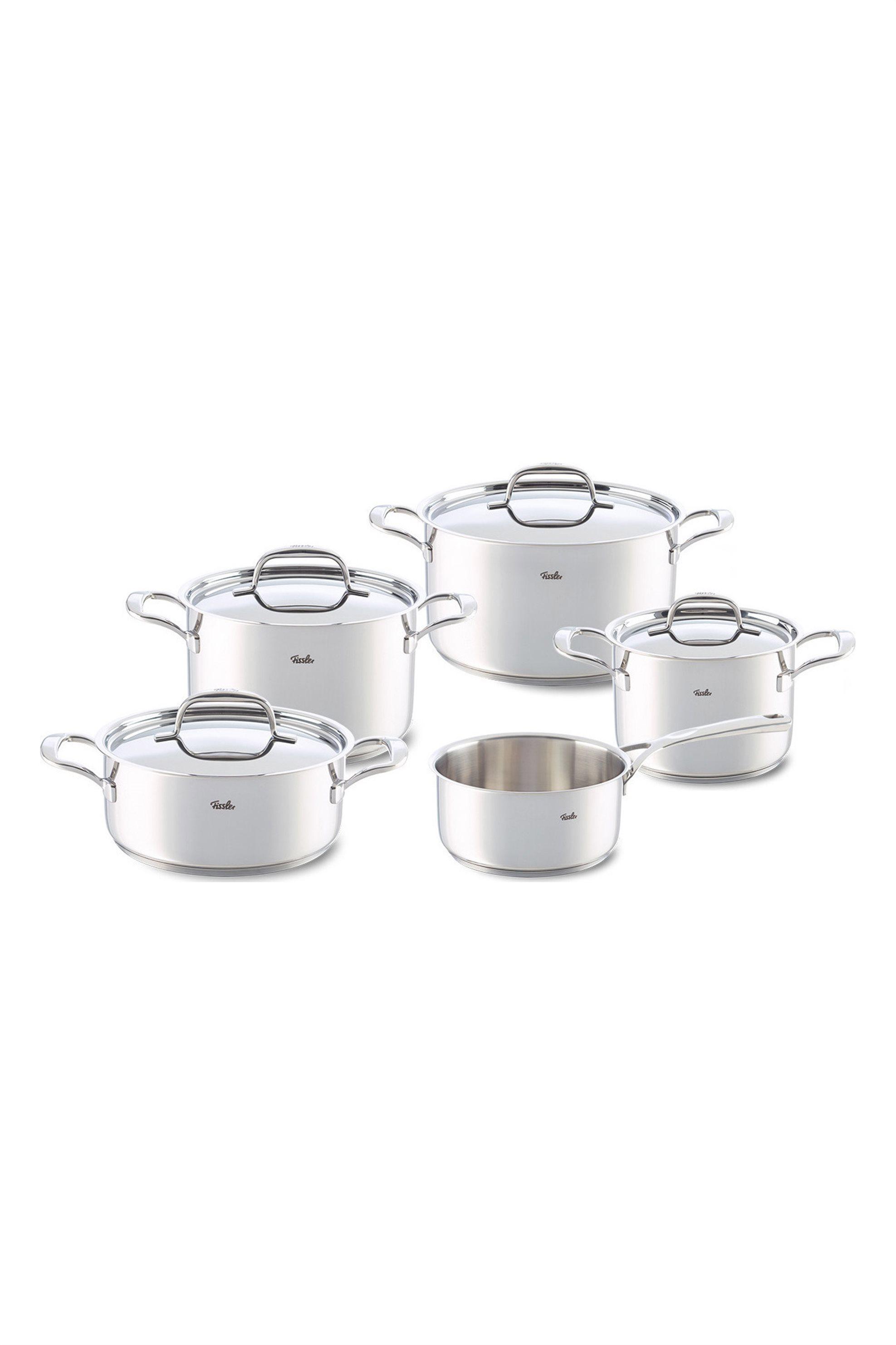 Σετ κατσαρόλες Riva 5τμχ Fissler - 0211605 home   κουζινα   μαγειρικά σκεύη
