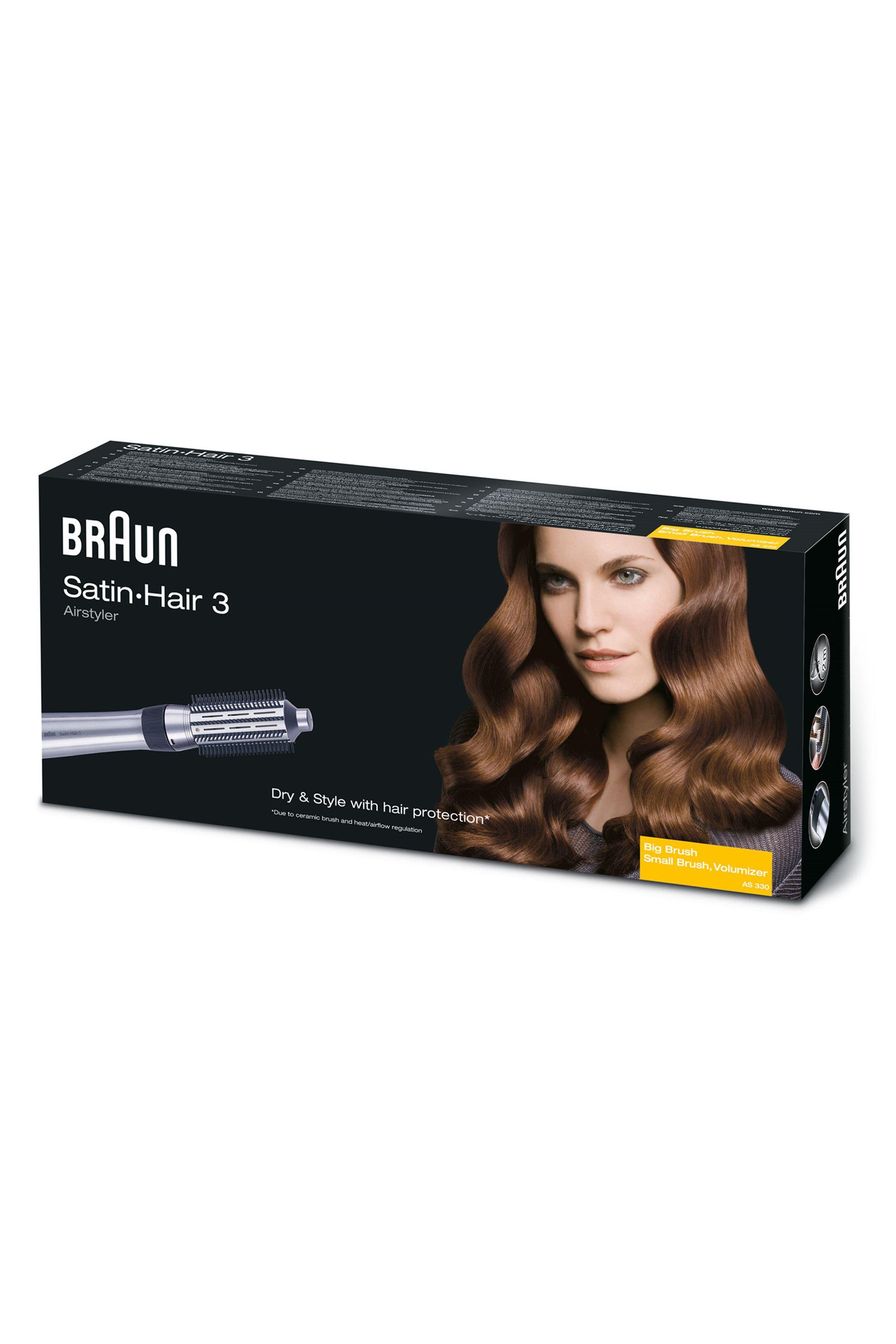 Ηλεκτρική βούρτσα Satin Hair 3 Airstyler AS400 Braun - AS400.V&S.1 home   συσκευεσ περιποιησησ   ψαλίδια μαλλιών