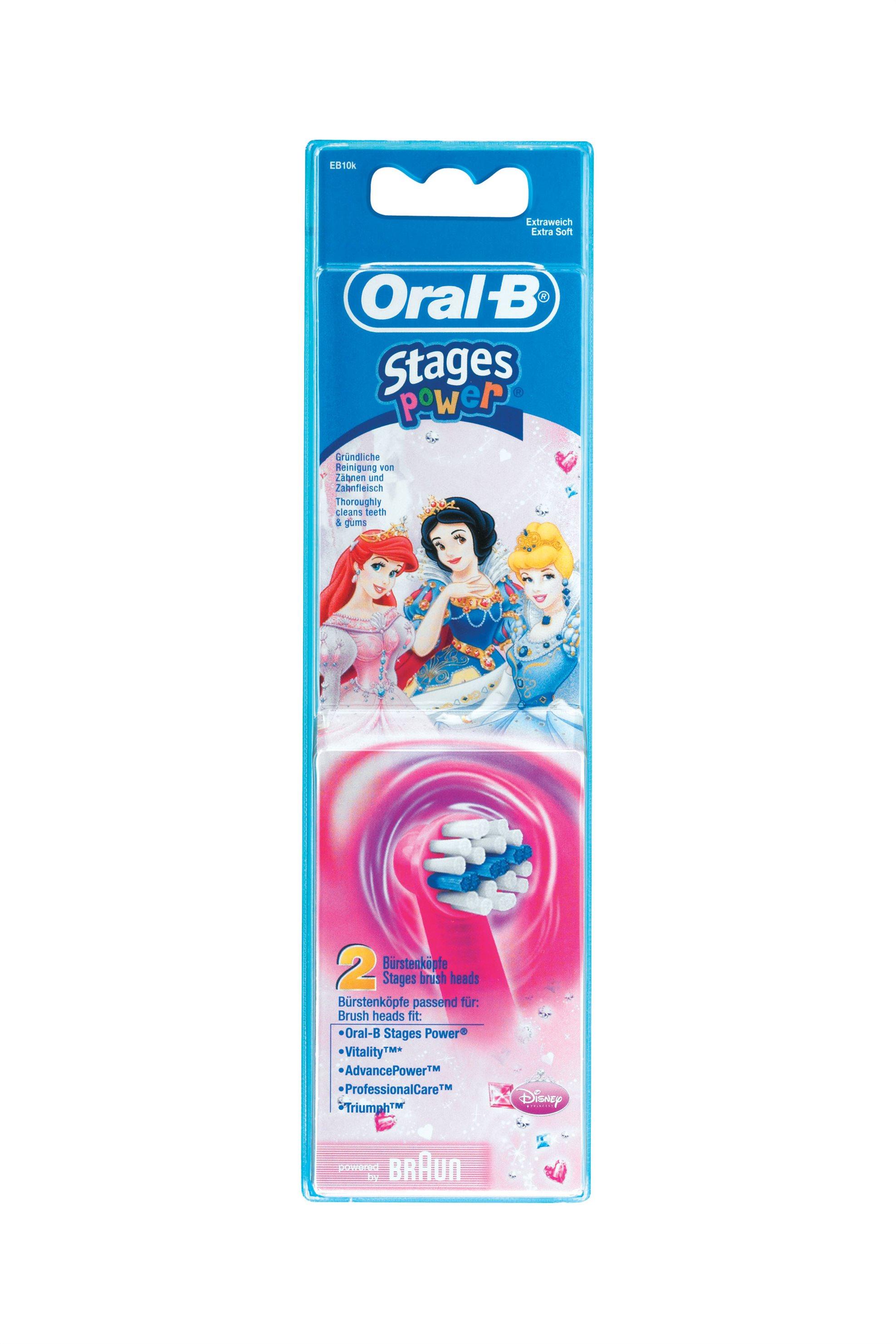 Ανταλλακτικό Βουρτσάκι Oral-B Stages Power Kids Braun - EB10-2K.1 home   συσκευεσ περιποιησησ   ηλεκτρικές οδοντόβουρτσες