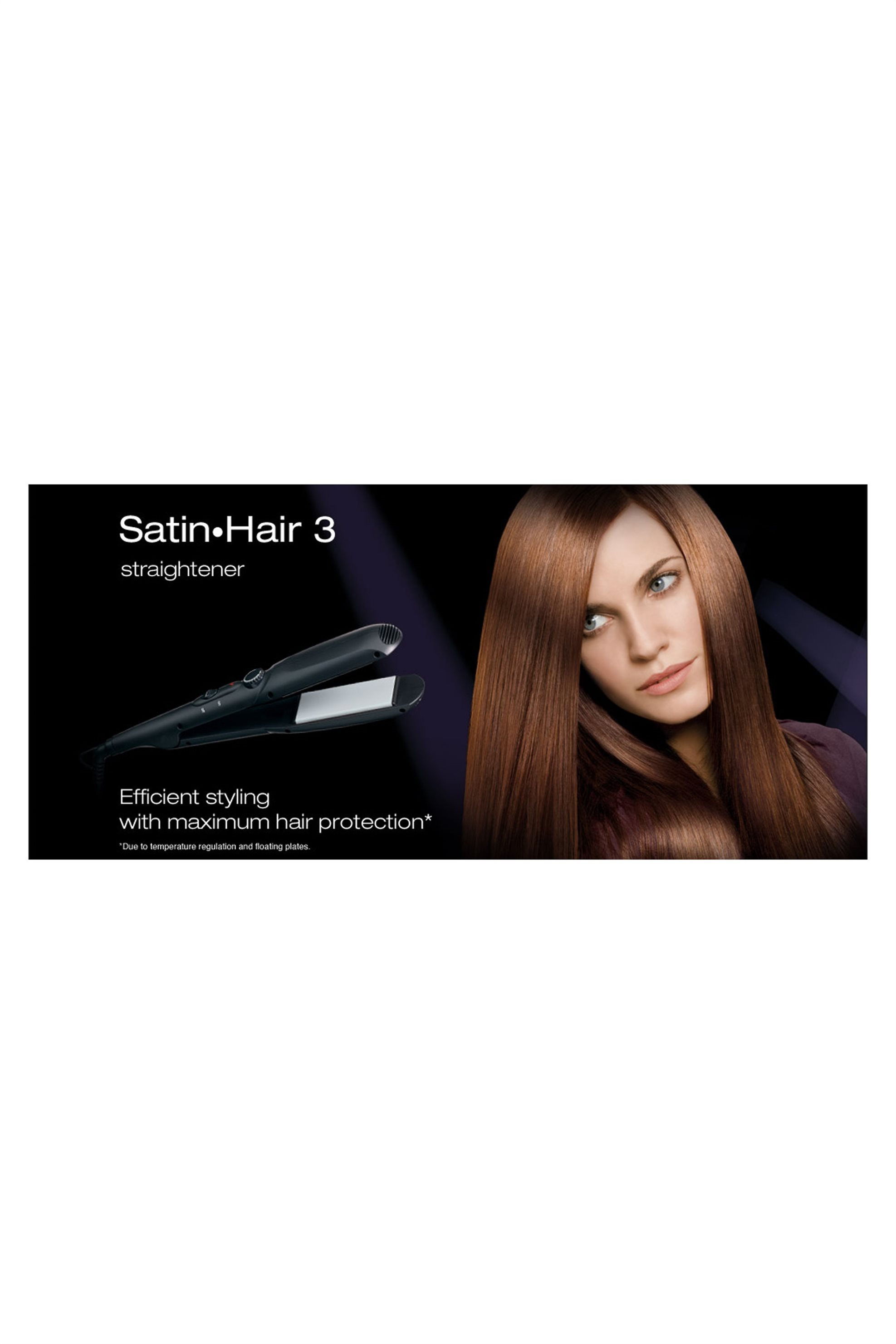 Συσκευή ισιώματος ES1 Satin Hair 3 Braun - ES1/10 home   συσκευεσ περιποιησησ   πρέσες μαλλιών