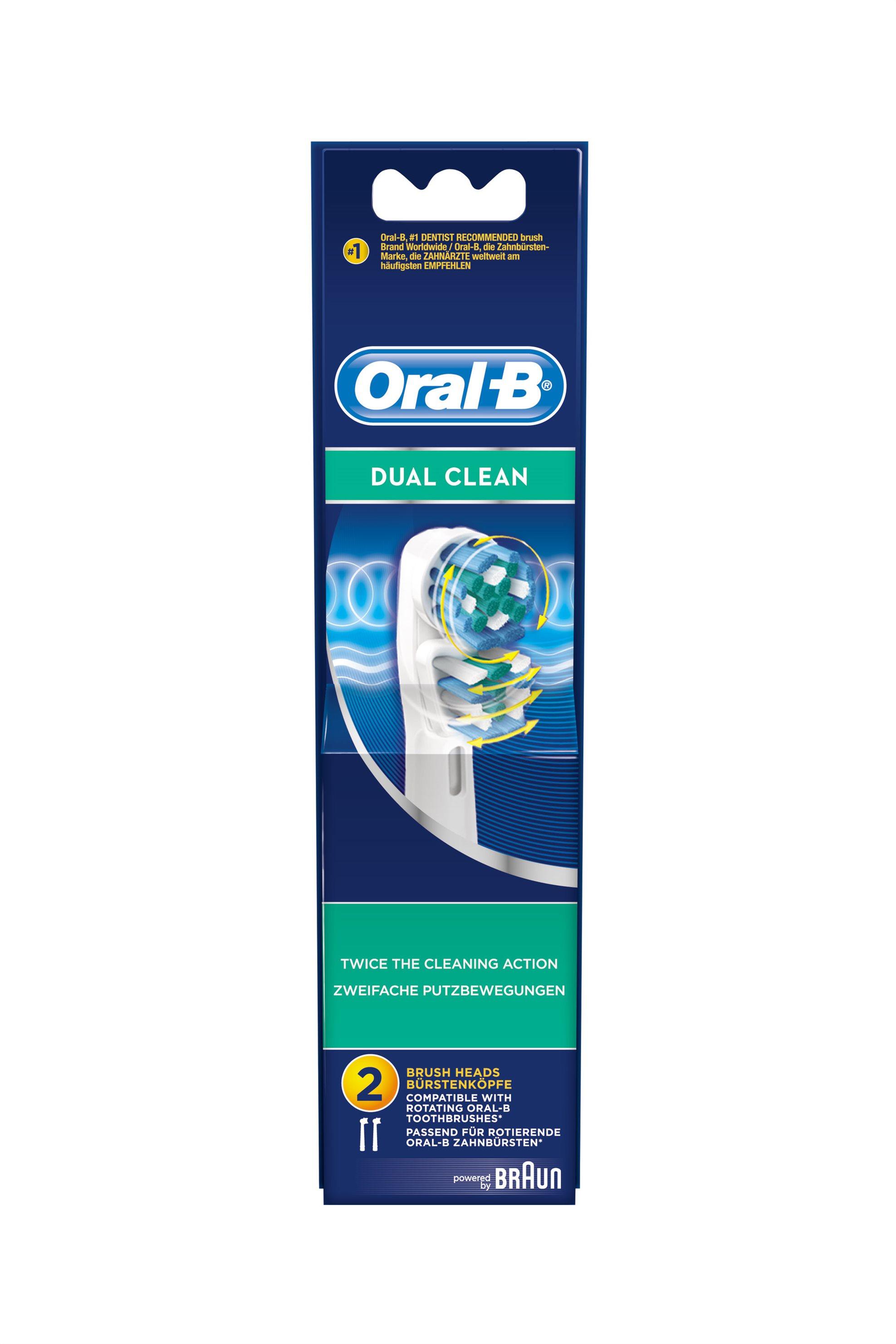 Ανταλλακτικά για ηλεκτρική οδοντόβουρτσα Oral b Dual Clean Braun - EB417-2/N home   συσκευεσ περιποιησησ   ηλεκτρικές οδοντόβουρτσες