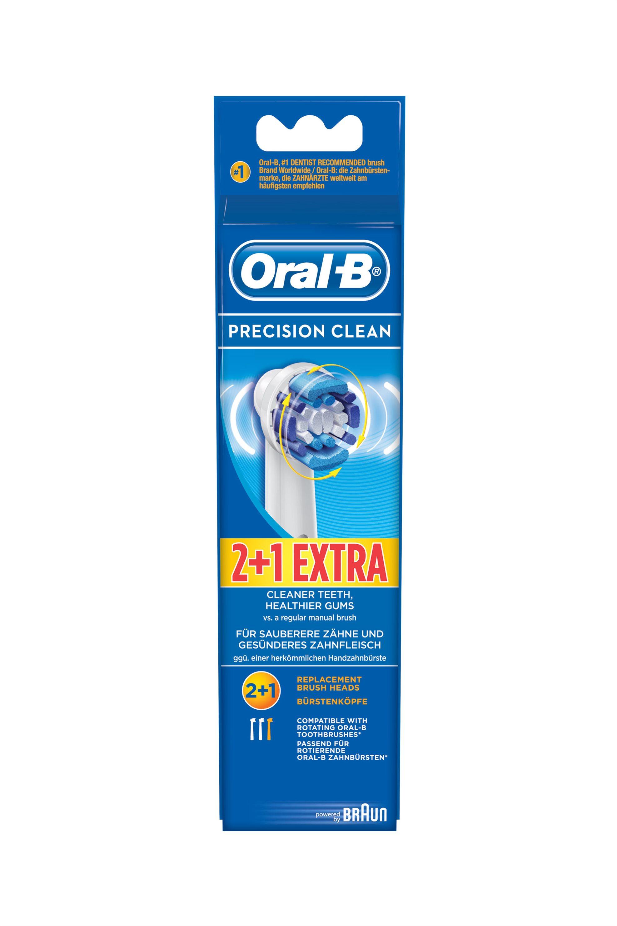 Ανταλλακτικά βουρτσάκια Precision Clean Oral b Braun - EB20-3/2 home   συσκευεσ περιποιησησ   ηλεκτρικές οδοντόβουρτσες
