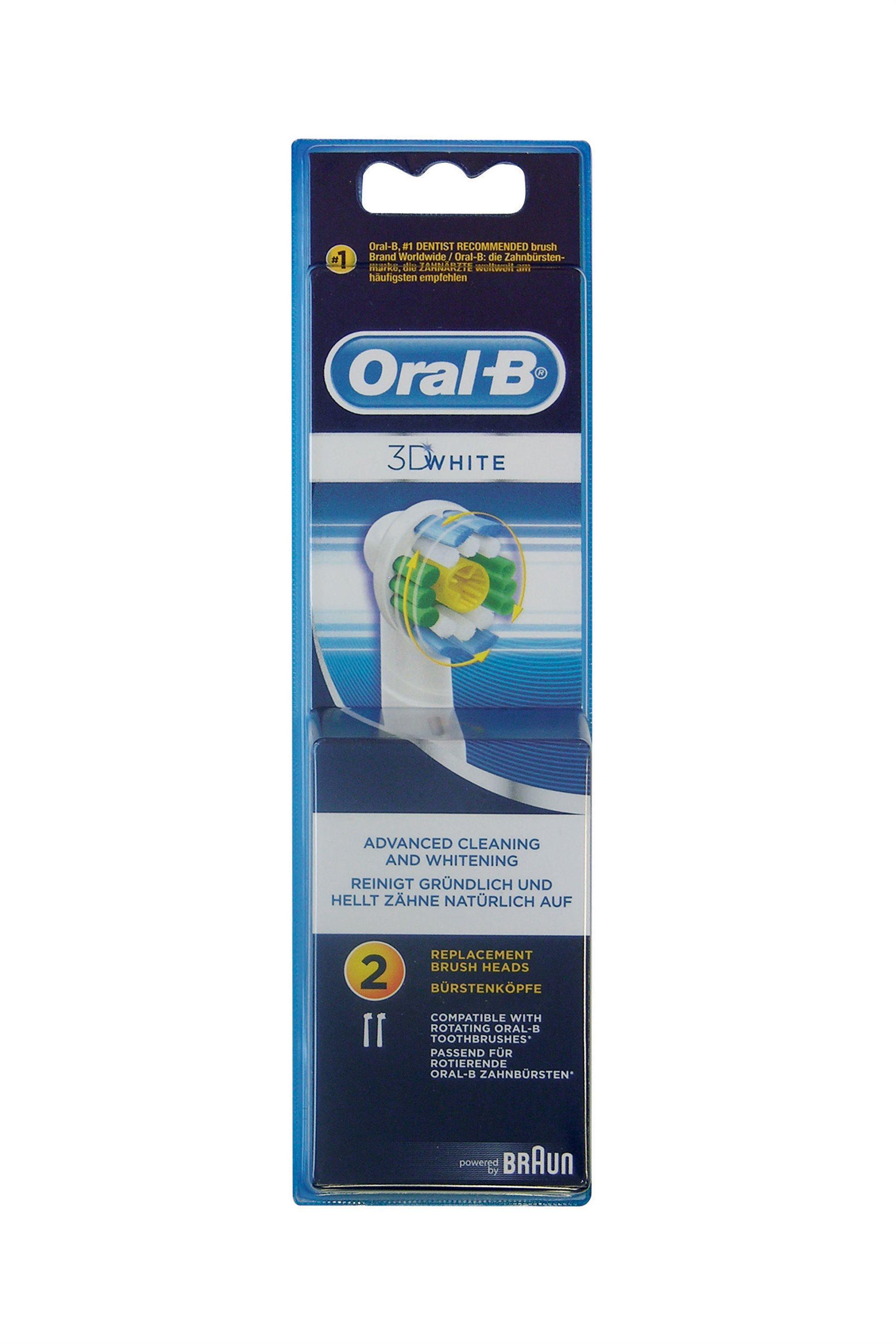 Ανταλλακτικό βουρτσάκι Oral b EB18-2/N ProWhite Braun - EB18-2/N home   συσκευεσ περιποιησησ   ηλεκτρικές οδοντόβουρτσες