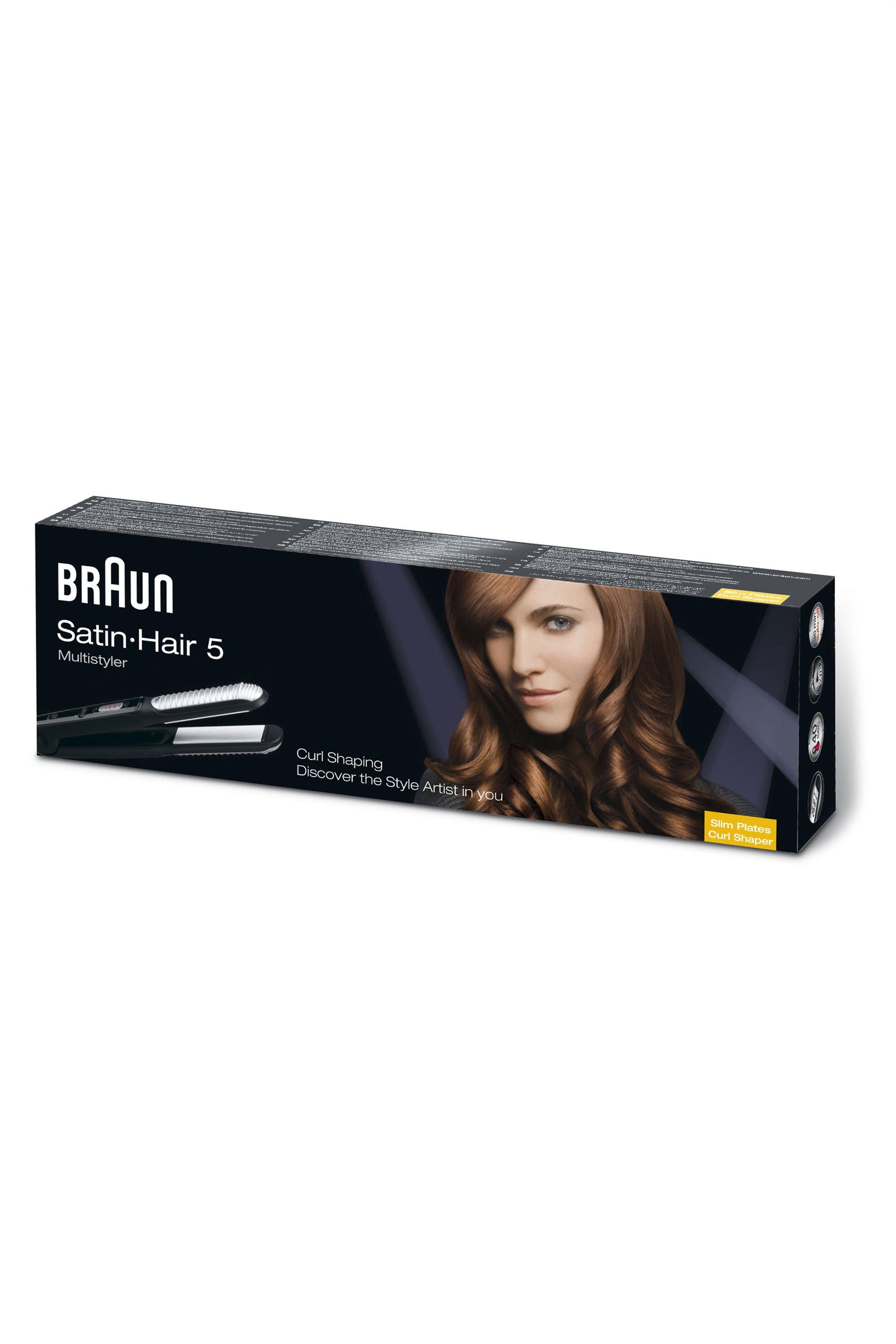 Συσκευή για ίσιωμα και μπούκλες ST550 Βraun - ST550 home   συσκευεσ περιποιησησ   πρέσες μαλλιών