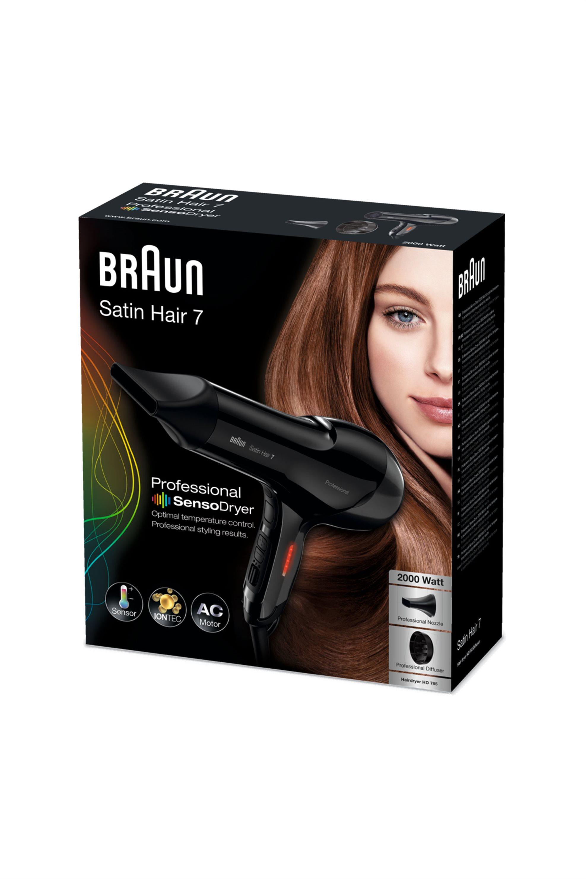 Σεσουάρ HD785 2000W Βraun - HD785 home   συσκευεσ περιποιησησ   πιστολάκια μαλλιών