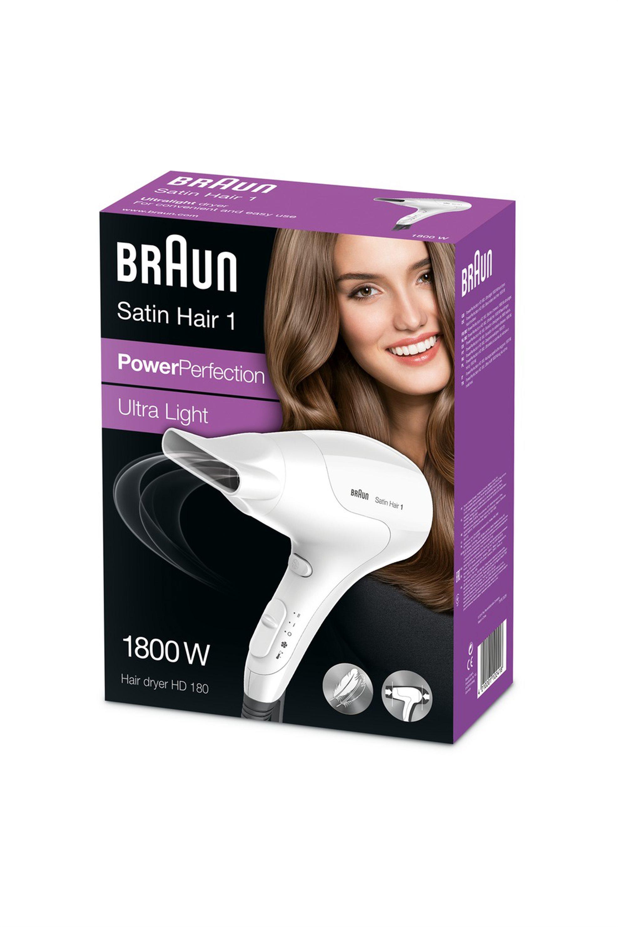 Σεσουάρ Μαλλιών 1800W HD180 Braun - HD180 home   συσκευεσ περιποιησησ   πιστολάκια μαλλιών