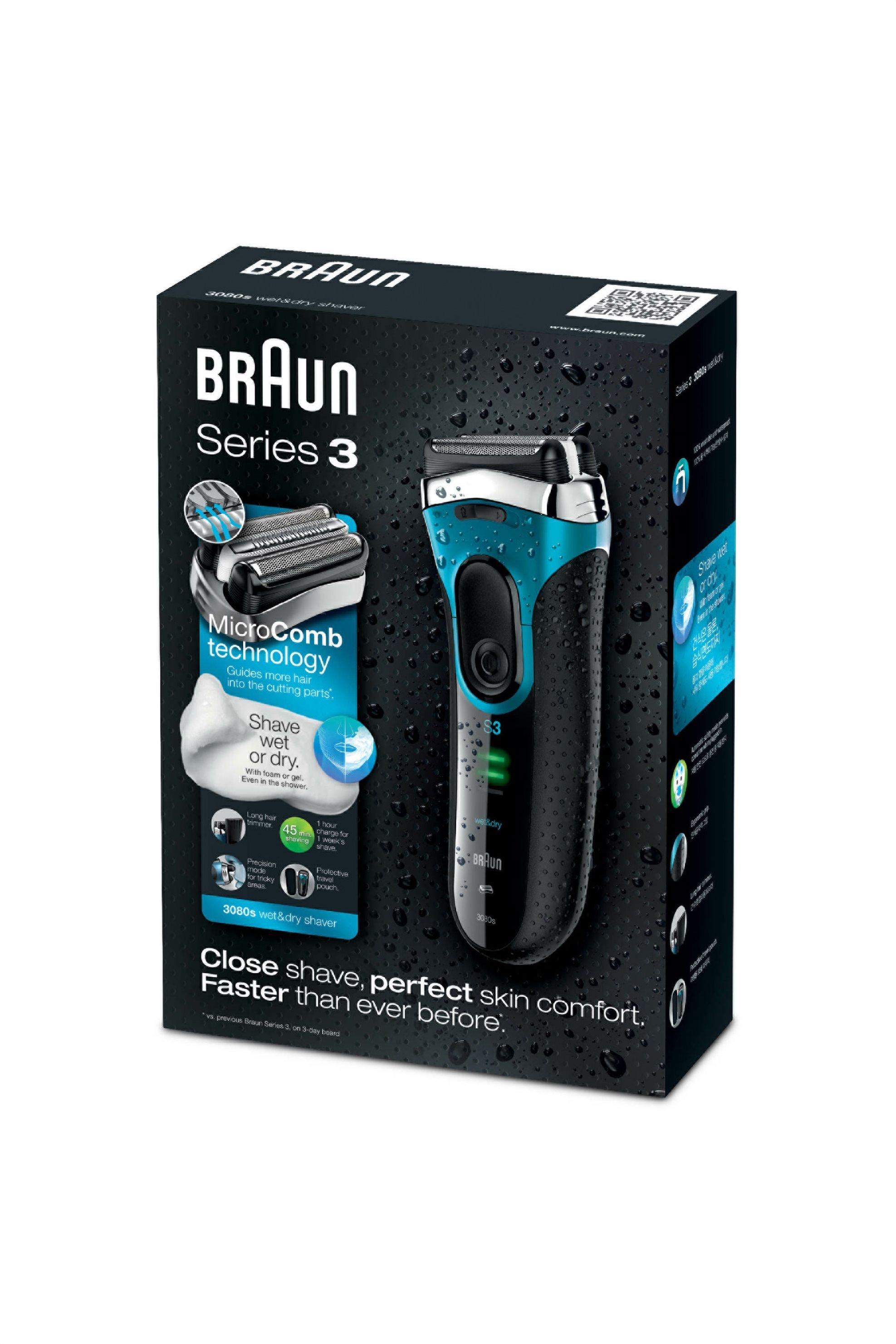 Ξυριστική μηχανή 3080S Wet & Dry Braun - 3080 home   συσκευεσ περιποιησησ   ξυριστικές μηχανές