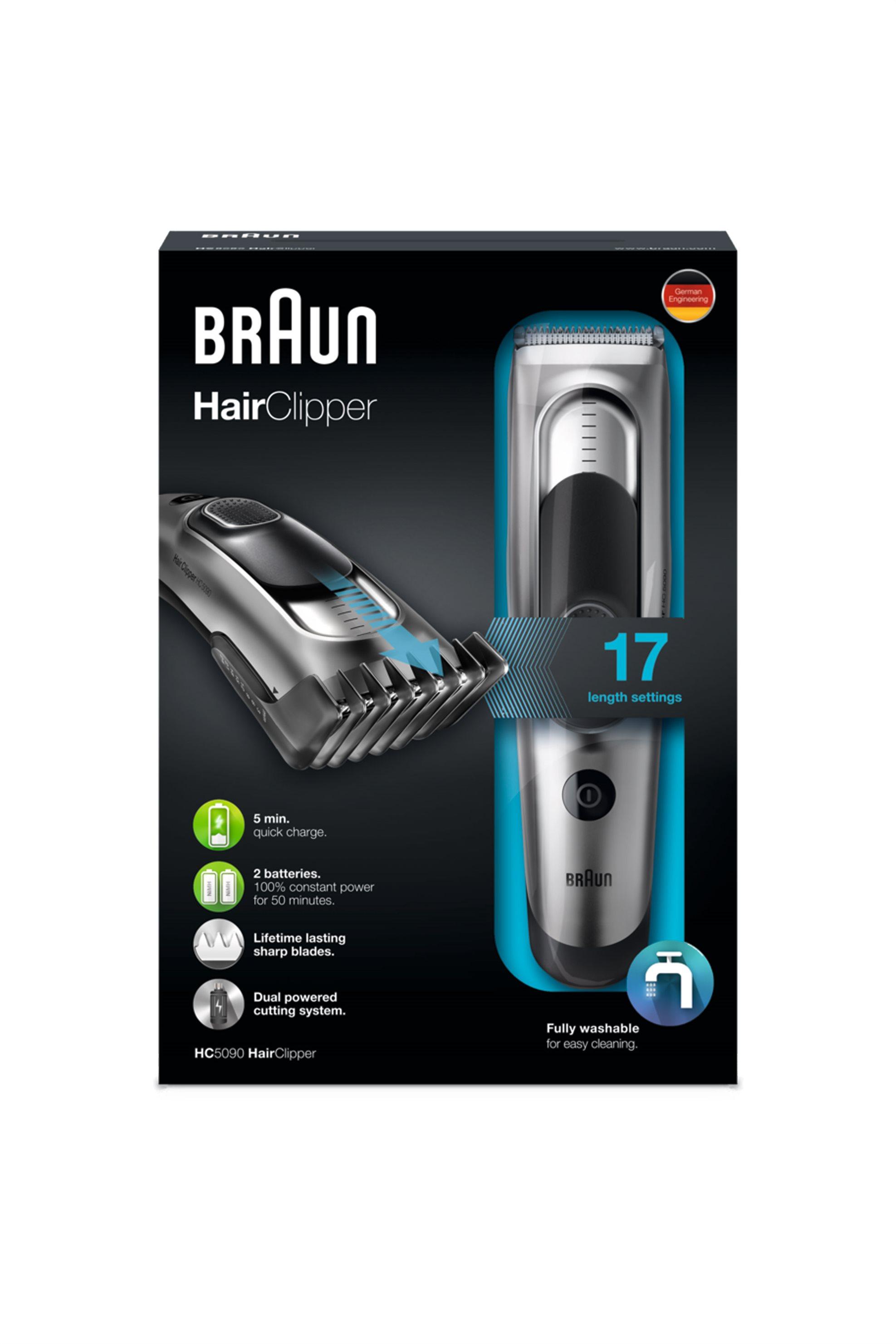 Κουρευτική μηχανή HC 5090 Braun - HC5090 home   συσκευεσ περιποιησησ   μηχανές κουρέματος