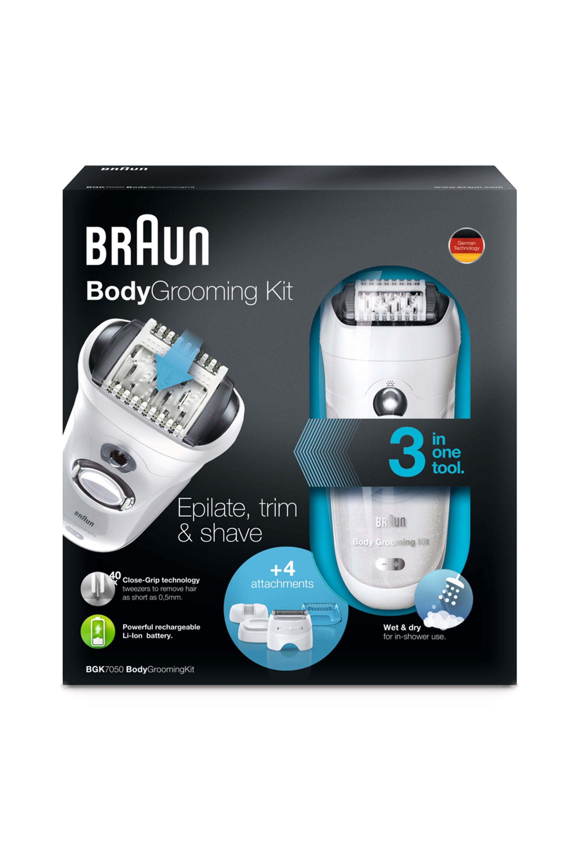 Αποτριχωτική μηχανή σώματος BGK 7050 Braun - BGK7050 home   συσκευεσ περιποιησησ   epilators