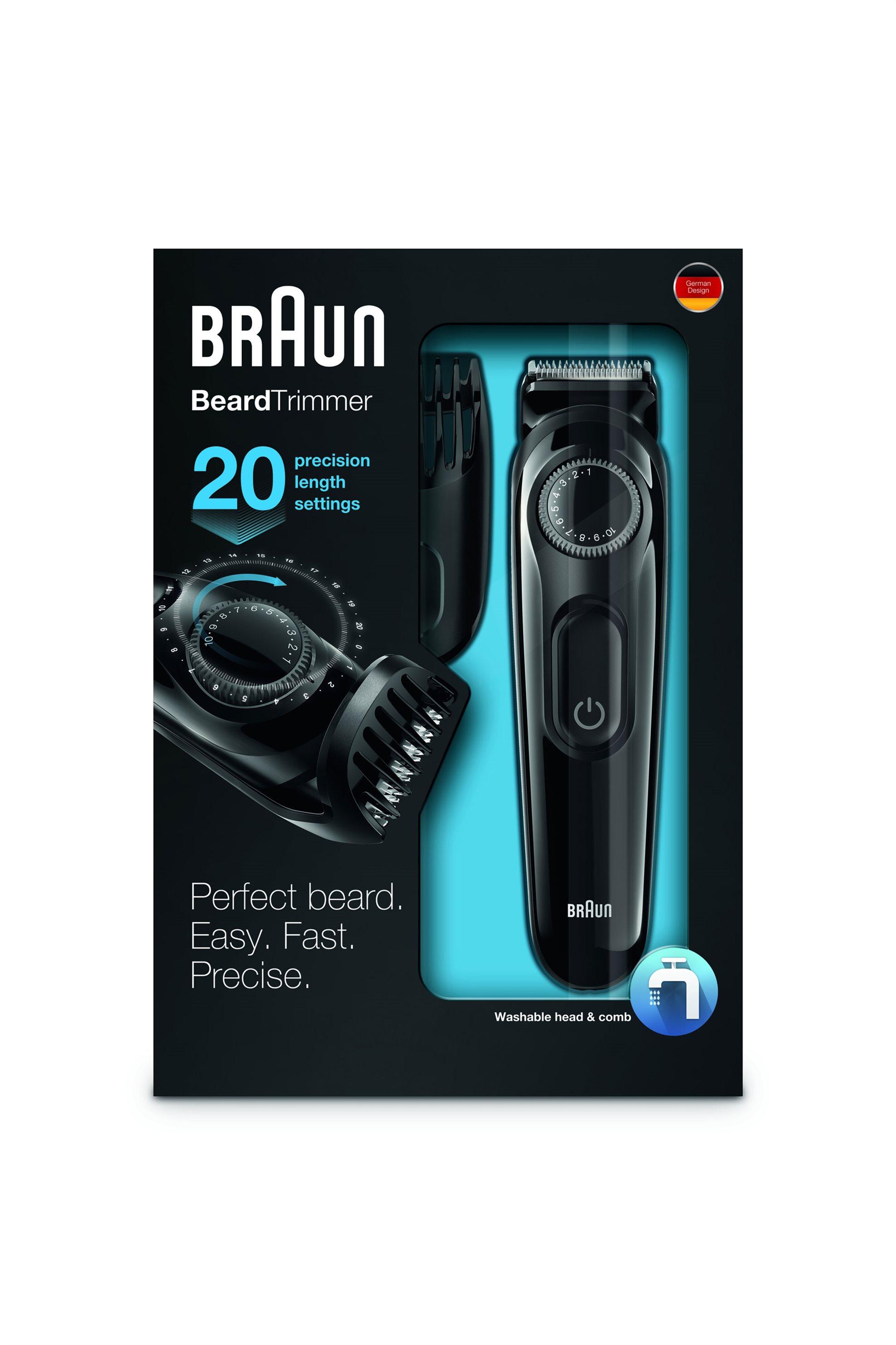 Ηλεκτρική μηχανή περιποίησης γενειάδας ΒΤ3020 Braun - BT3020 home   συσκευεσ περιποιησησ   ξυριστικές μηχανές