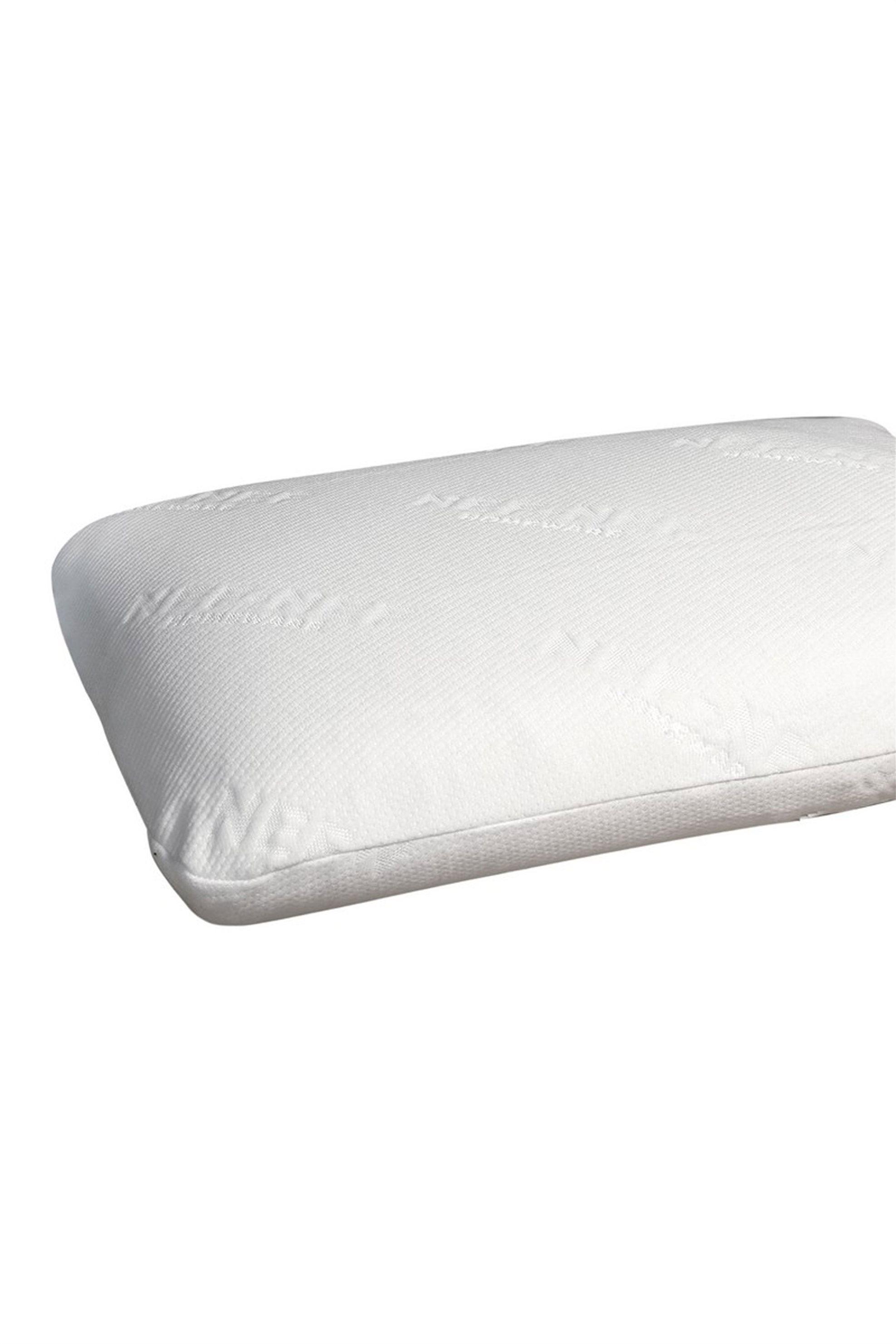 Παιδικό μαξιλάρι latex (60 x 40 x 6 cm) NEF-NEF - 017275 - Λευκό home   παιδια   μαξιλάρια