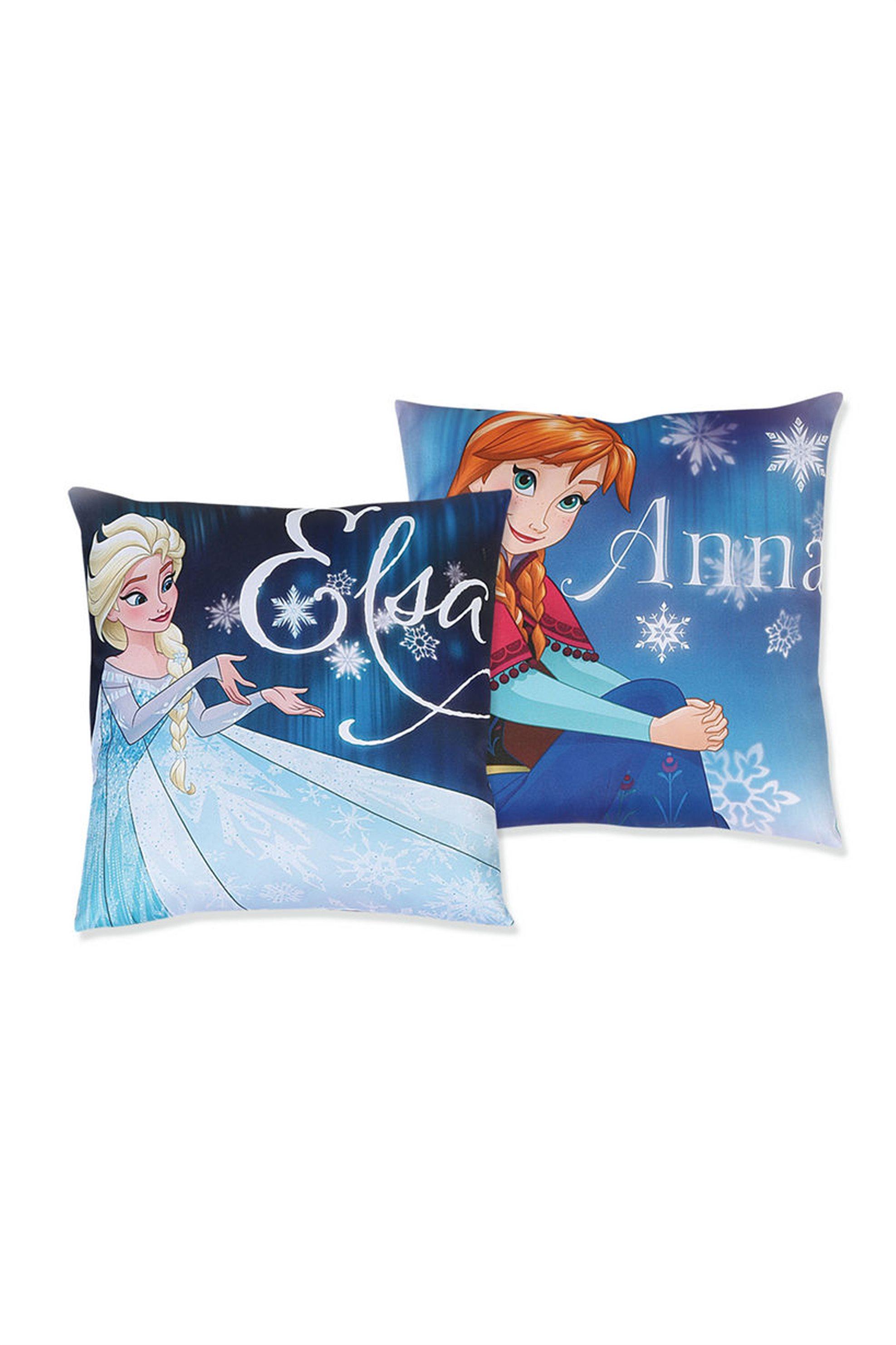 Παιδικό διακοσμητικό μαξιλάρι Fozen Lights Disney - 018639 - Μπλε home   παιδια   μαξιλάρια
