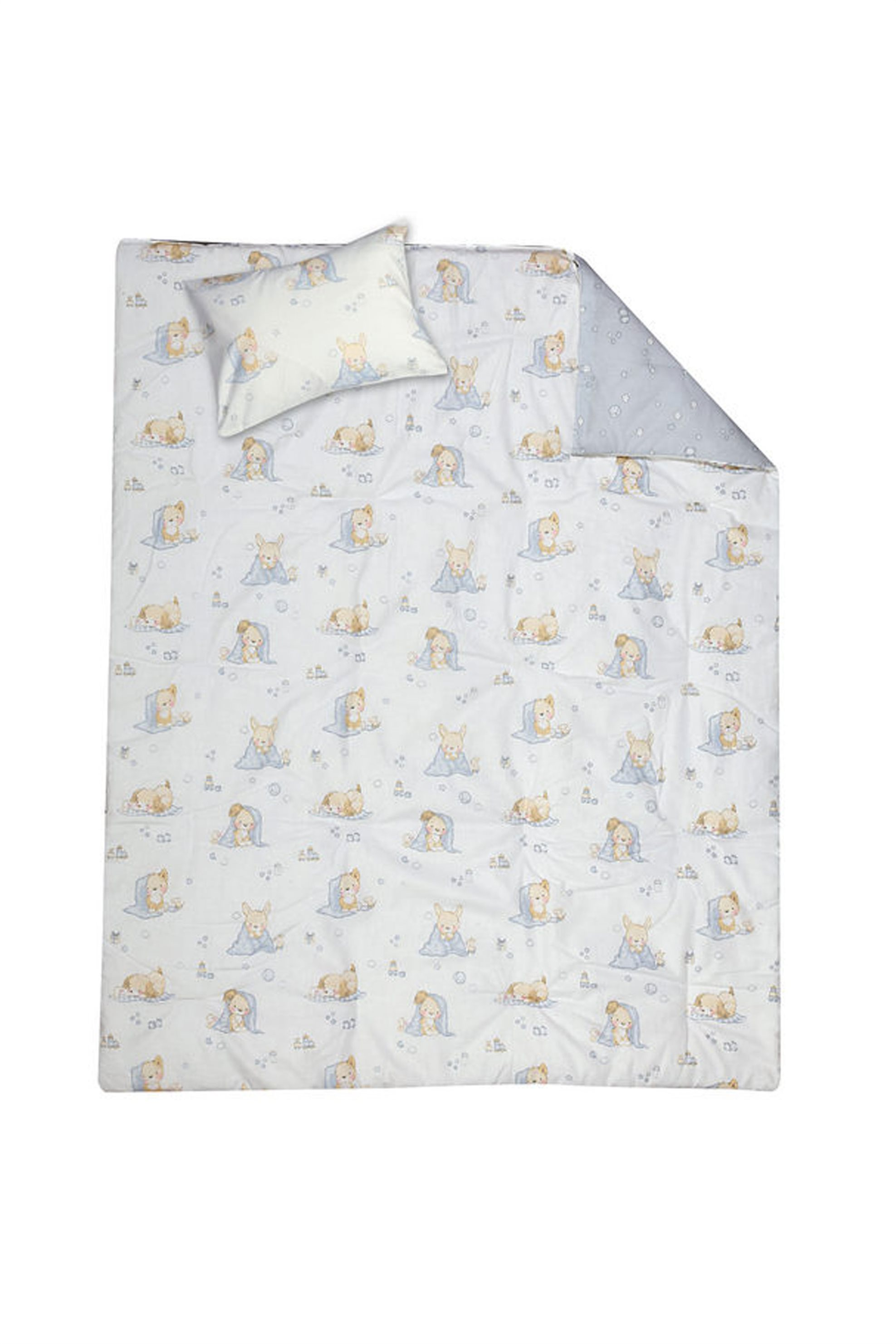 Σετ βρεφική παπλωματοθήκη Lovely Day (110x150 cm) NEF-NEF - 019781 - Λευκό home   παιδια   παπλωματοθήκες