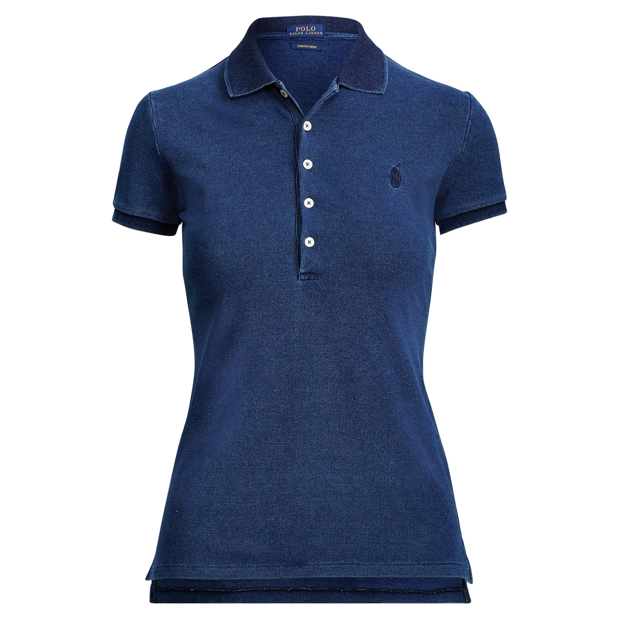 e45cb7c2facd Notos Polo Ralph Lauren γυναικεία μπλούζα Slim Fit Stretch Polo Shirt -  211505654102 - Μπλε Σκούρο